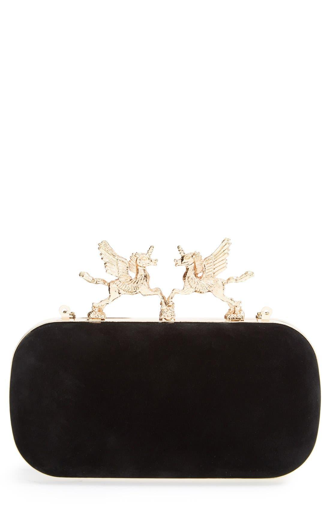 Alternate Image 1 Selected - Natasha Couture Unicorn Clutch