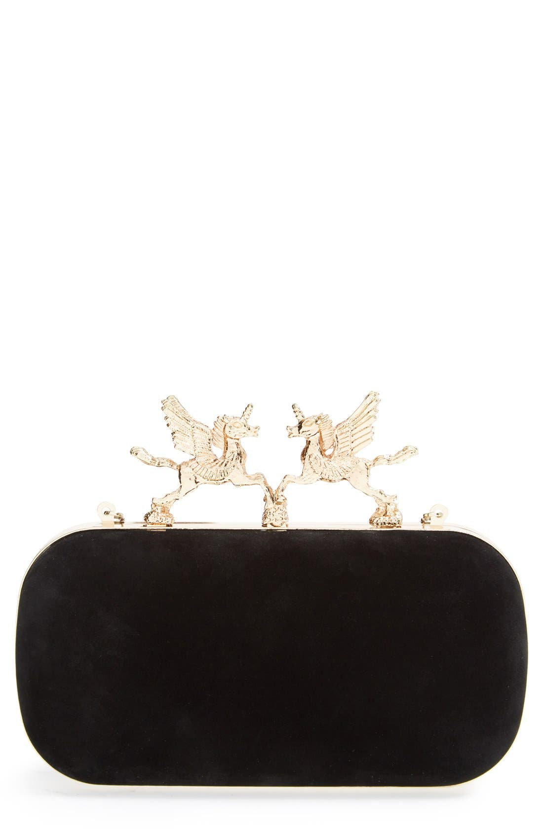 Main Image - Natasha Couture Unicorn Clutch