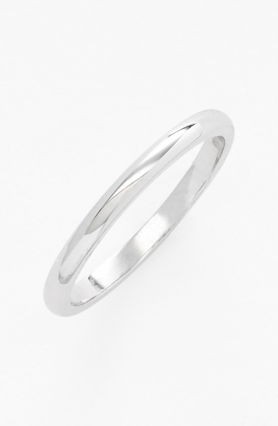 Alternate Image 2  - Ariella Collection Band Rings & Midi Ring (Set of 3)