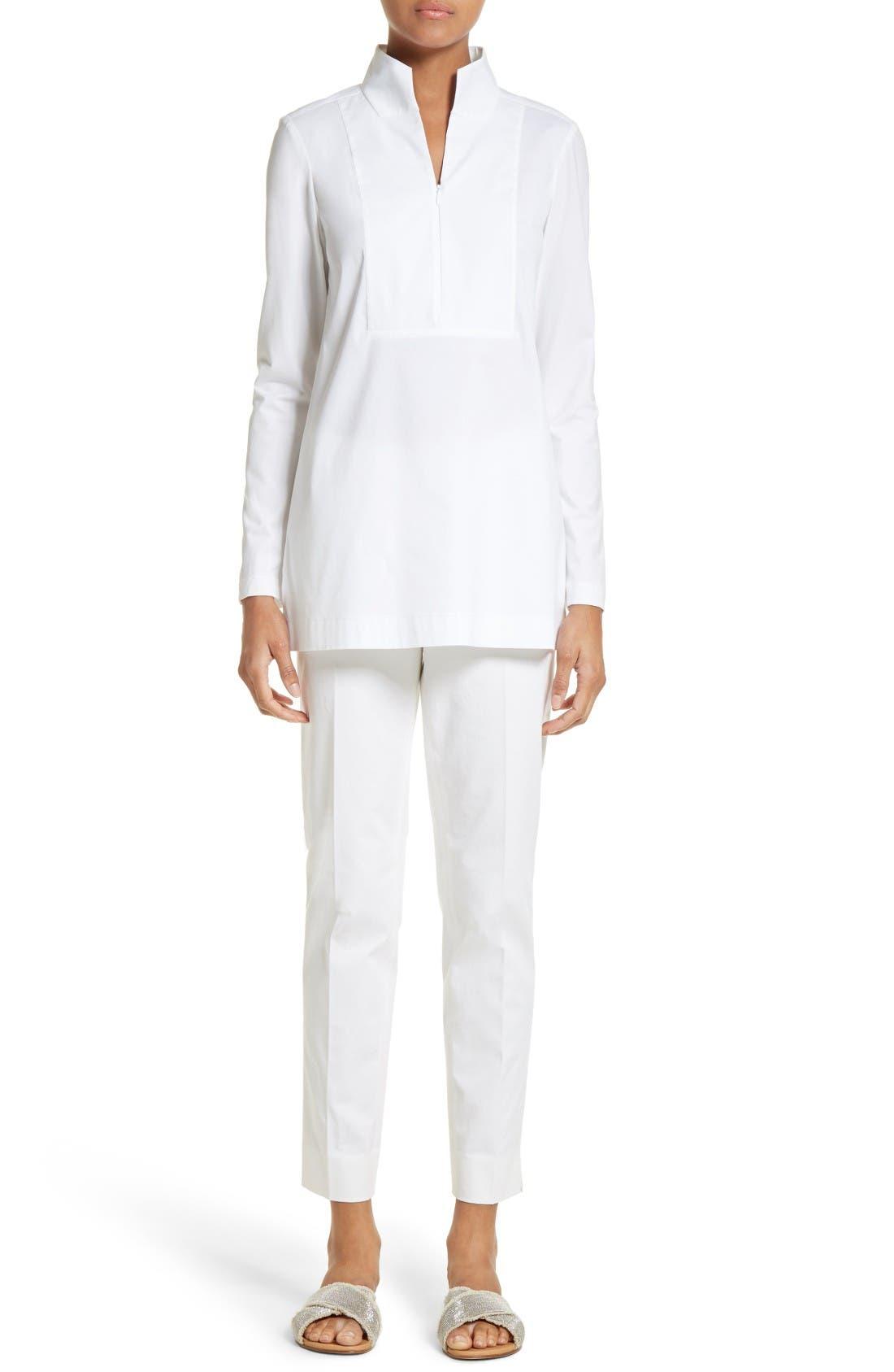 Alternate Image 7  - Lafayette 148 New York Marco Jersey Sleeve Tunic