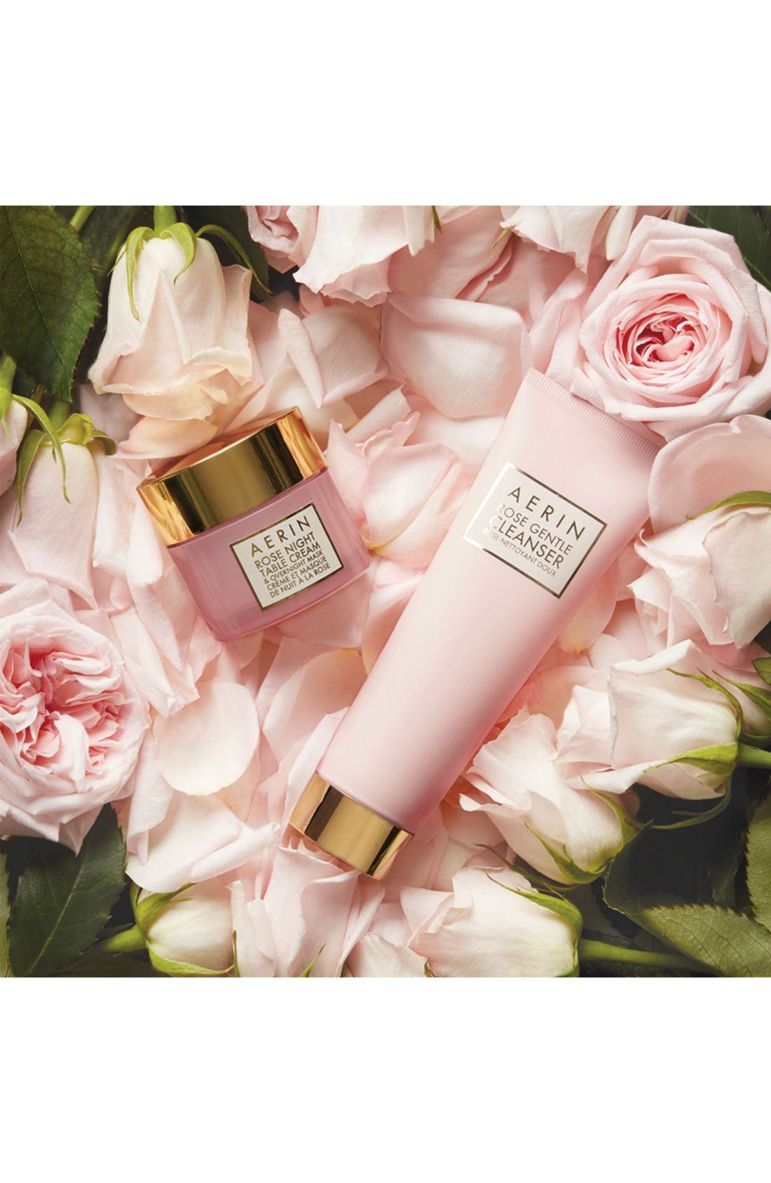Alternate Image 3  - AERIN Beauty 'Rose' Night Table Cream & Overnight Mask