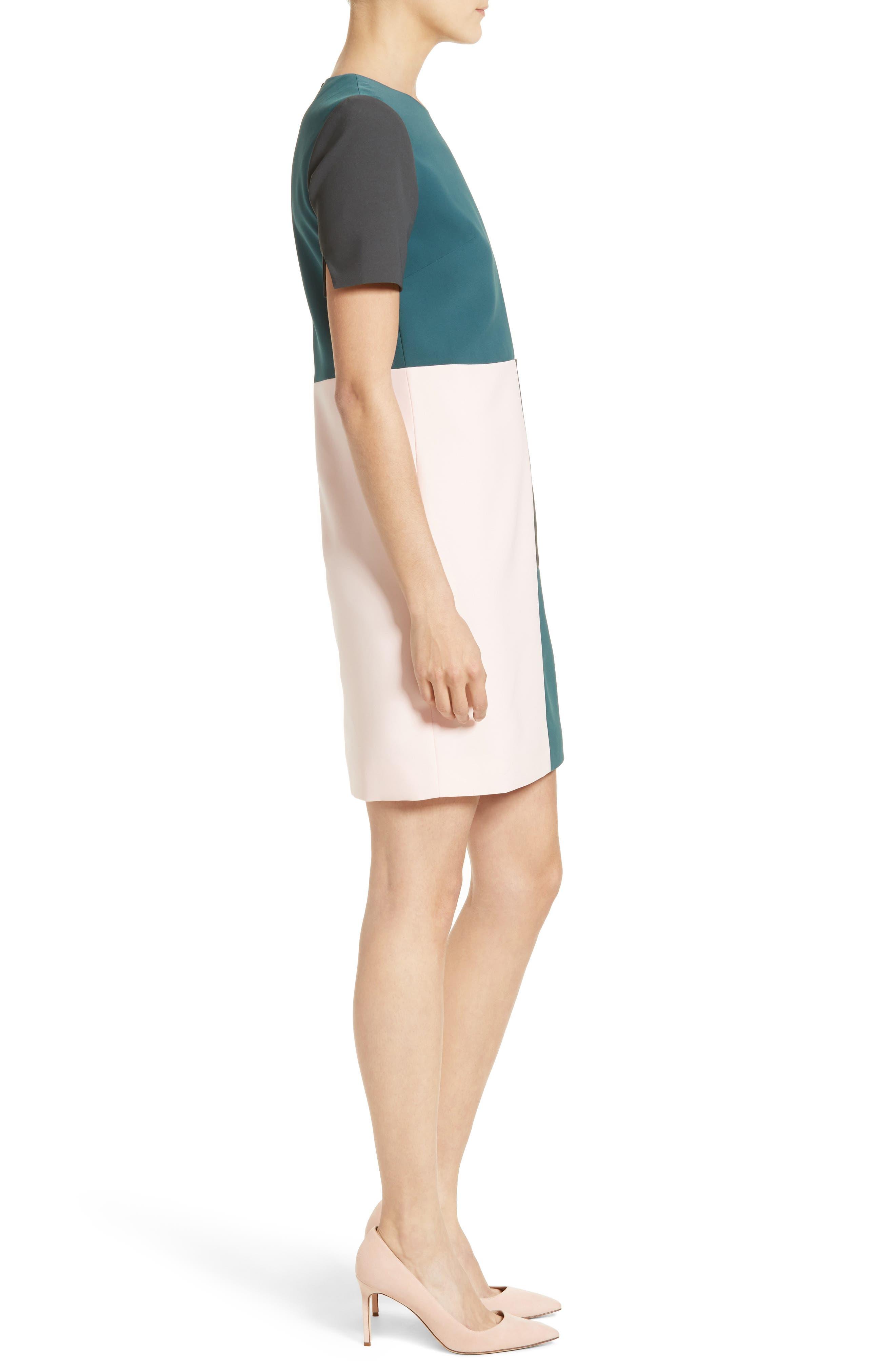Alternate Image 3  - Ted Baker London Ardell Colorblock Dress