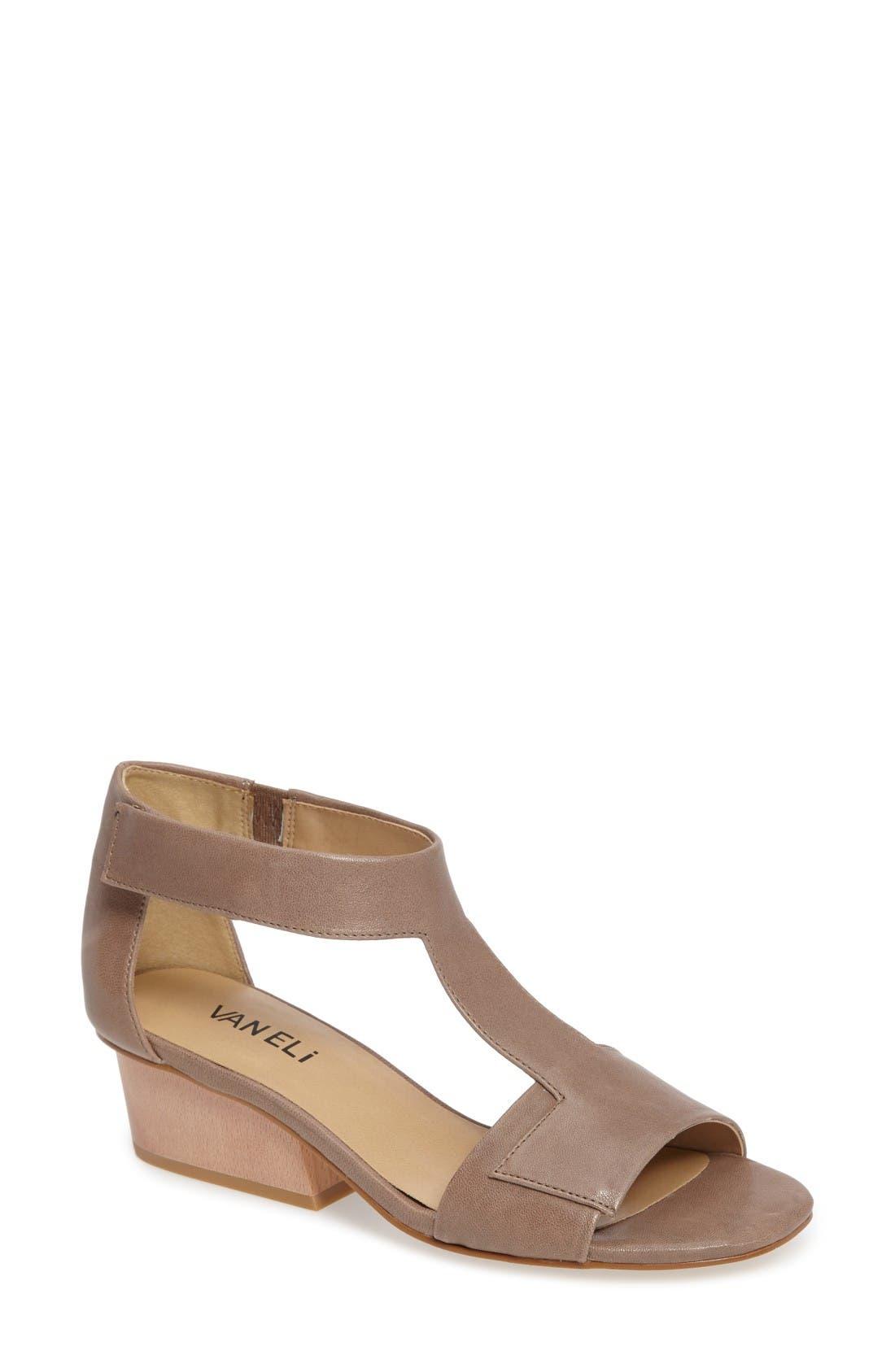 VANELi Celie T-Strap Sandal (Women)