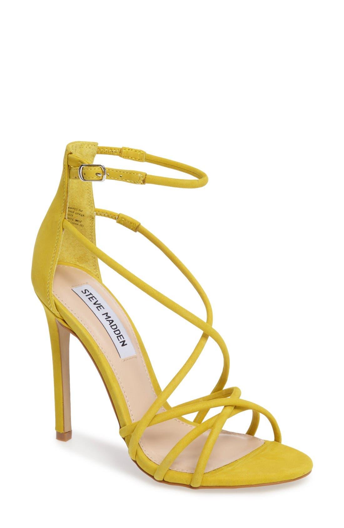 Alternate Image 1 Selected - Steve Madden Strappy Sandal (Women)