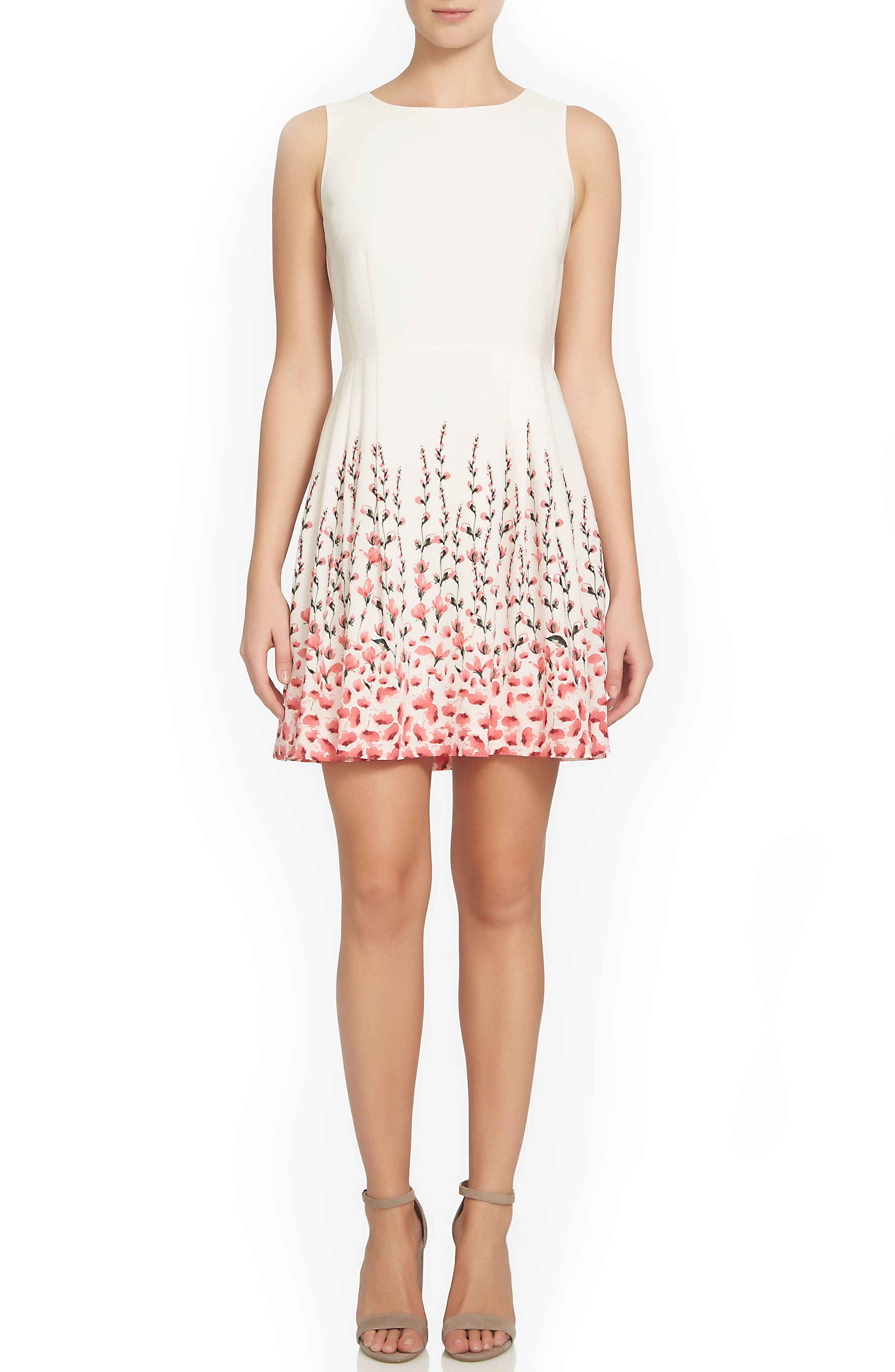 Alternate Image 3  - CeCe Claiborne Fit & Flare Dress (Regular & Petite)