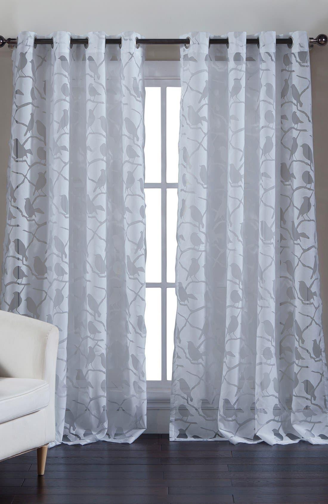 kensie 'Jaye' Sheer Window Panel