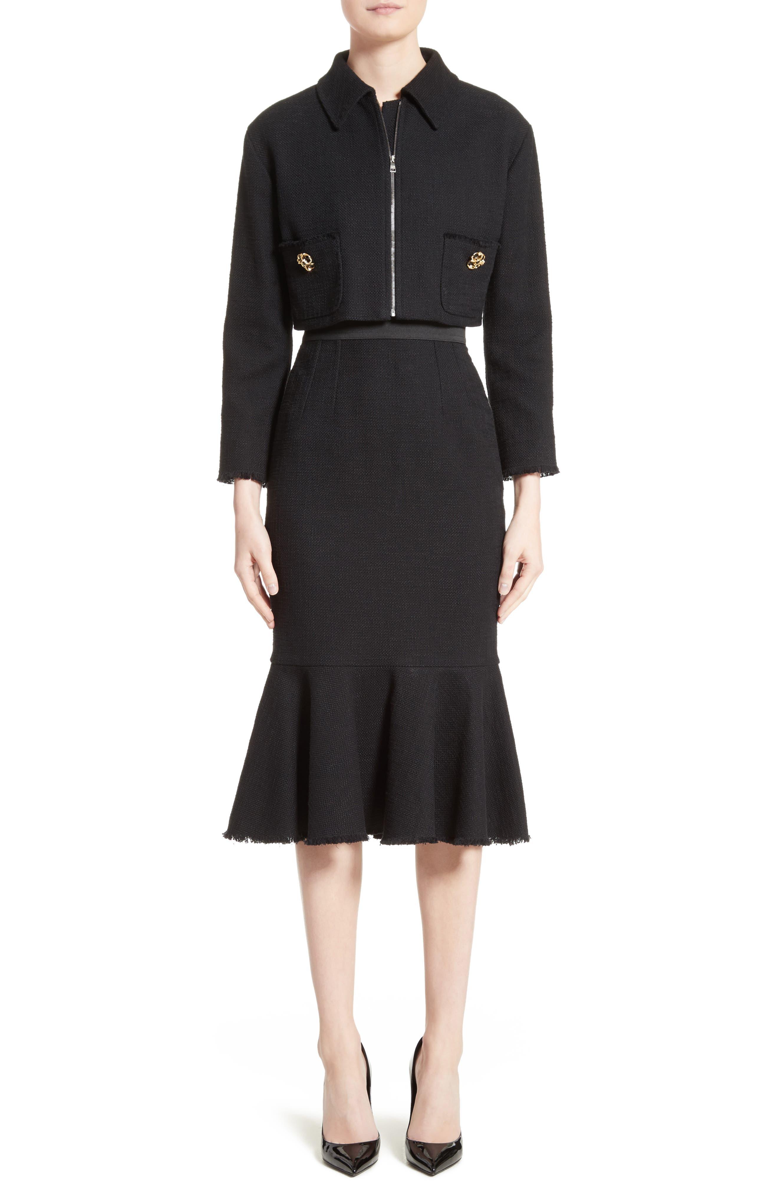 Alternate Image 7  - Dolce&Gabbana Flare Hem Skirt
