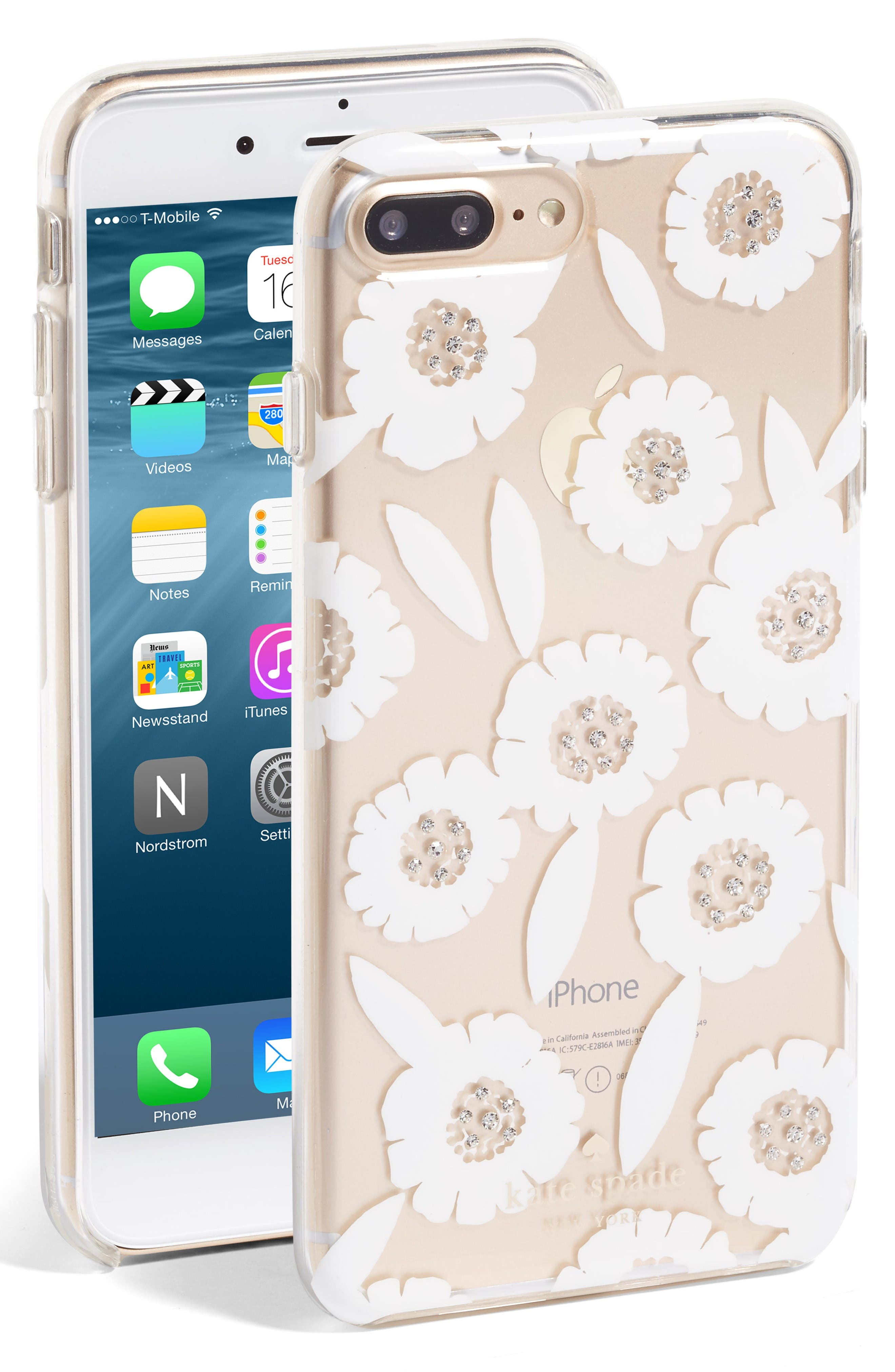 KATE SPADE NEW YORK jeweled majorelle iPhone 7