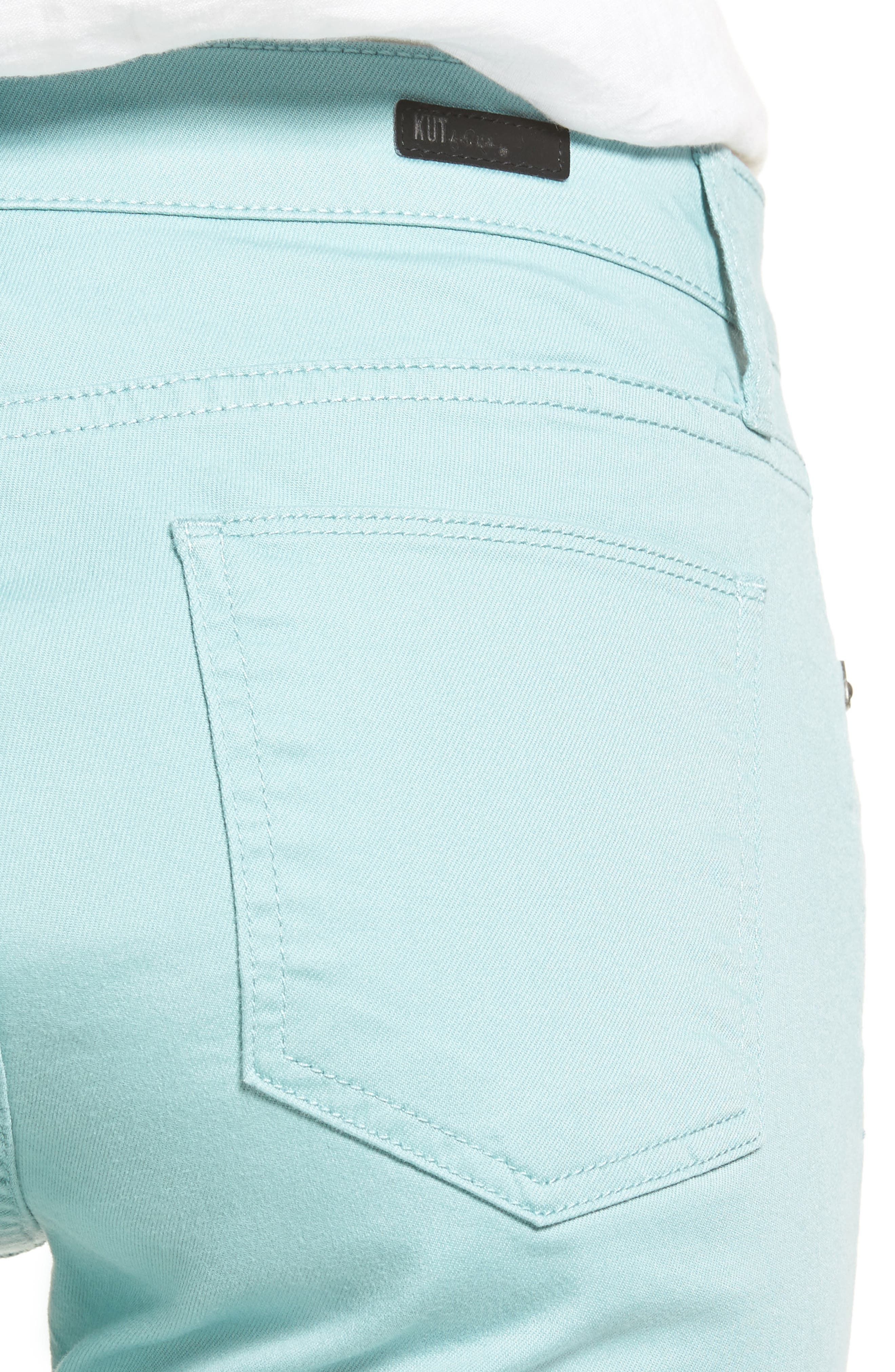 Alternate Image 4  - KUT from the Kloth Reese Colored Ankle Jeans