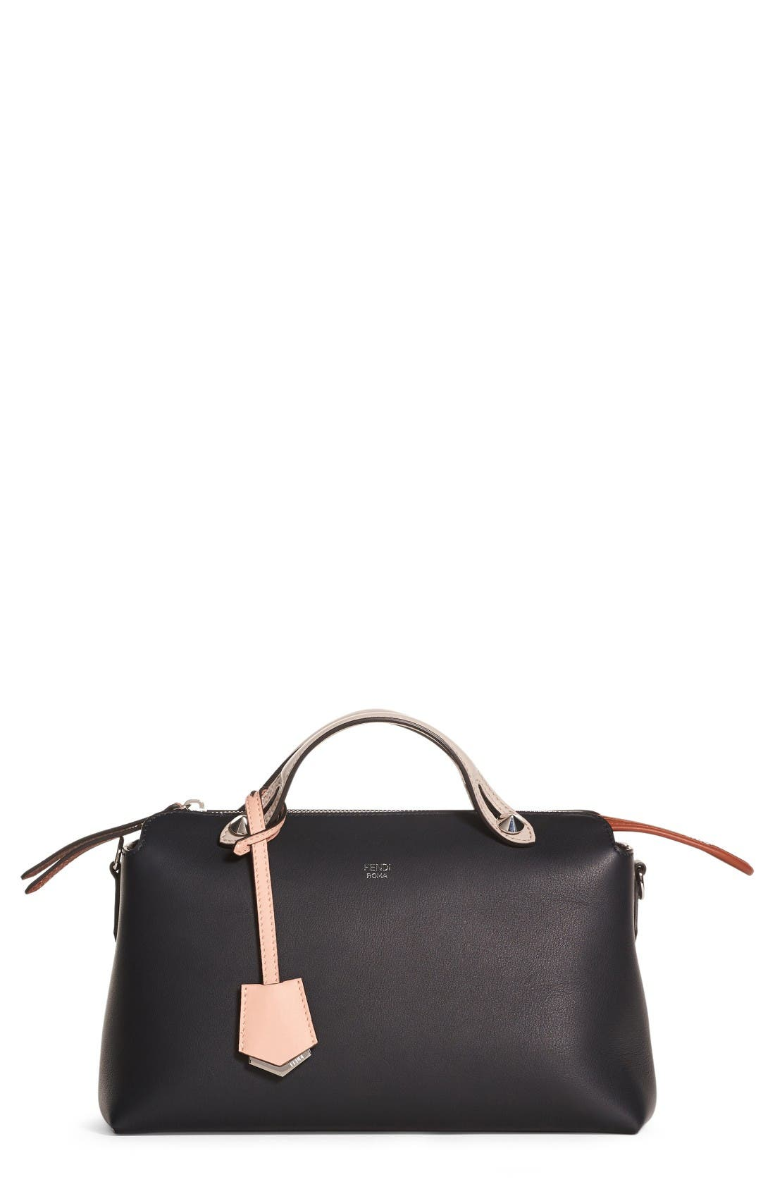 Fendi 'Medium By the Way' Colorblock Leather Shoulder Bag