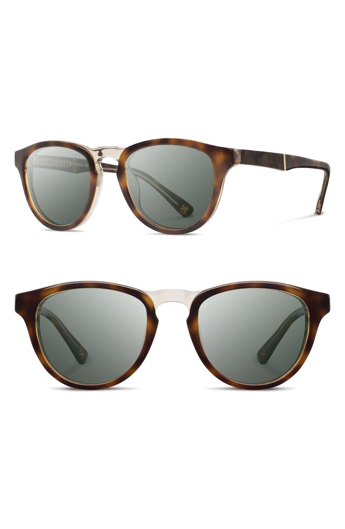 Shwood 'Francis' 49mm Polarized Sunglasses