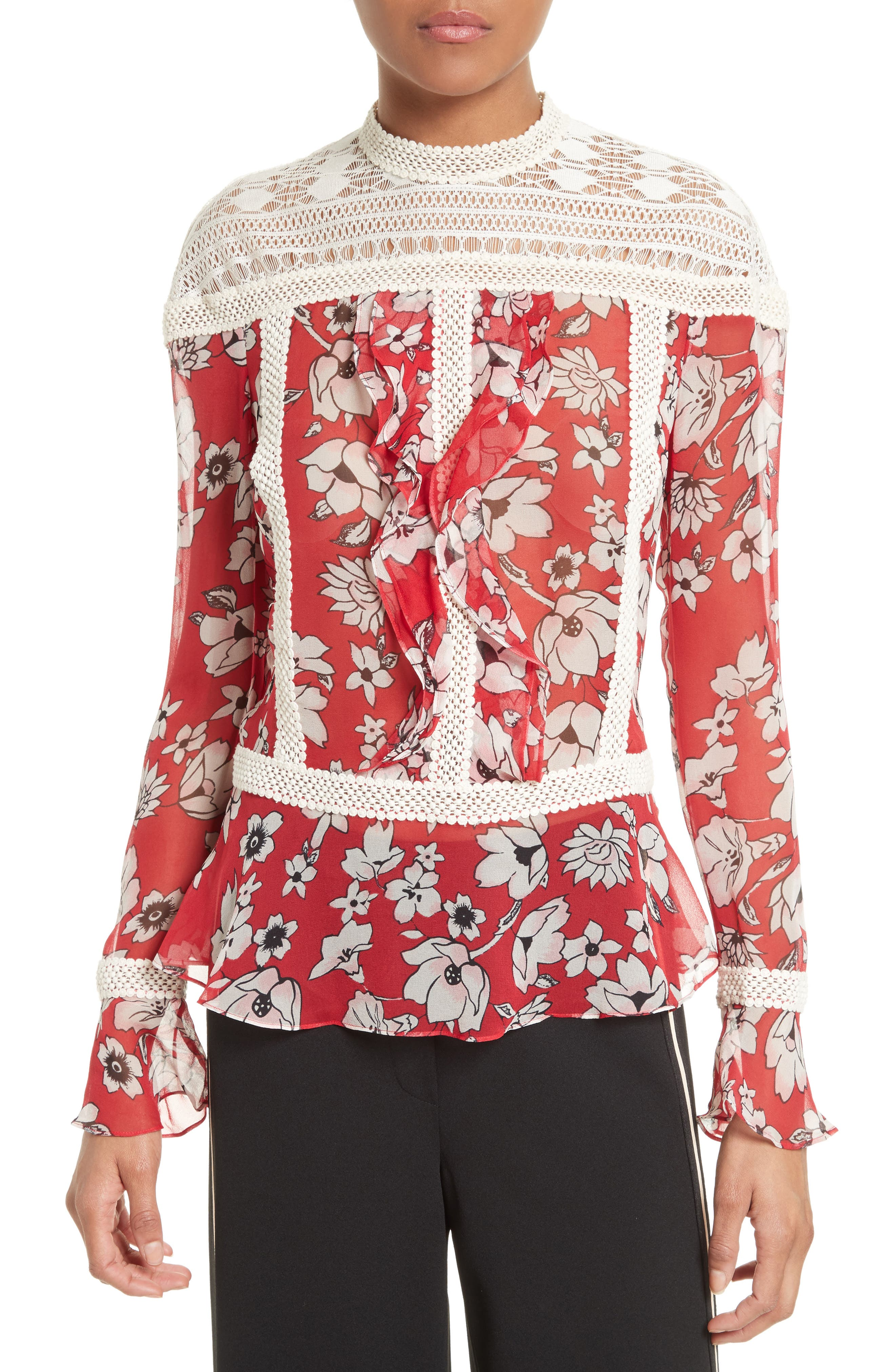 Tracy Reese Silk Blouse