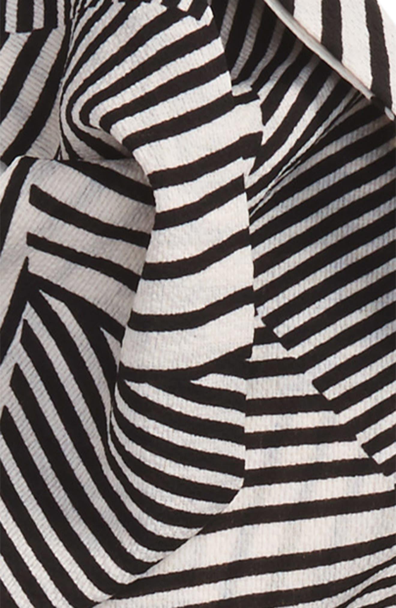 Alternate Image 2  - Sole Society Stripe Skinny Scarf