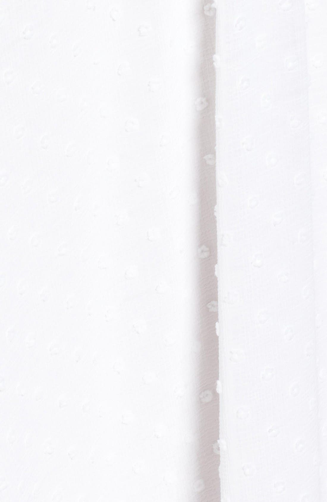 Alternate Image 6  - MOON RIVER Swiss Dot Maxi Dress