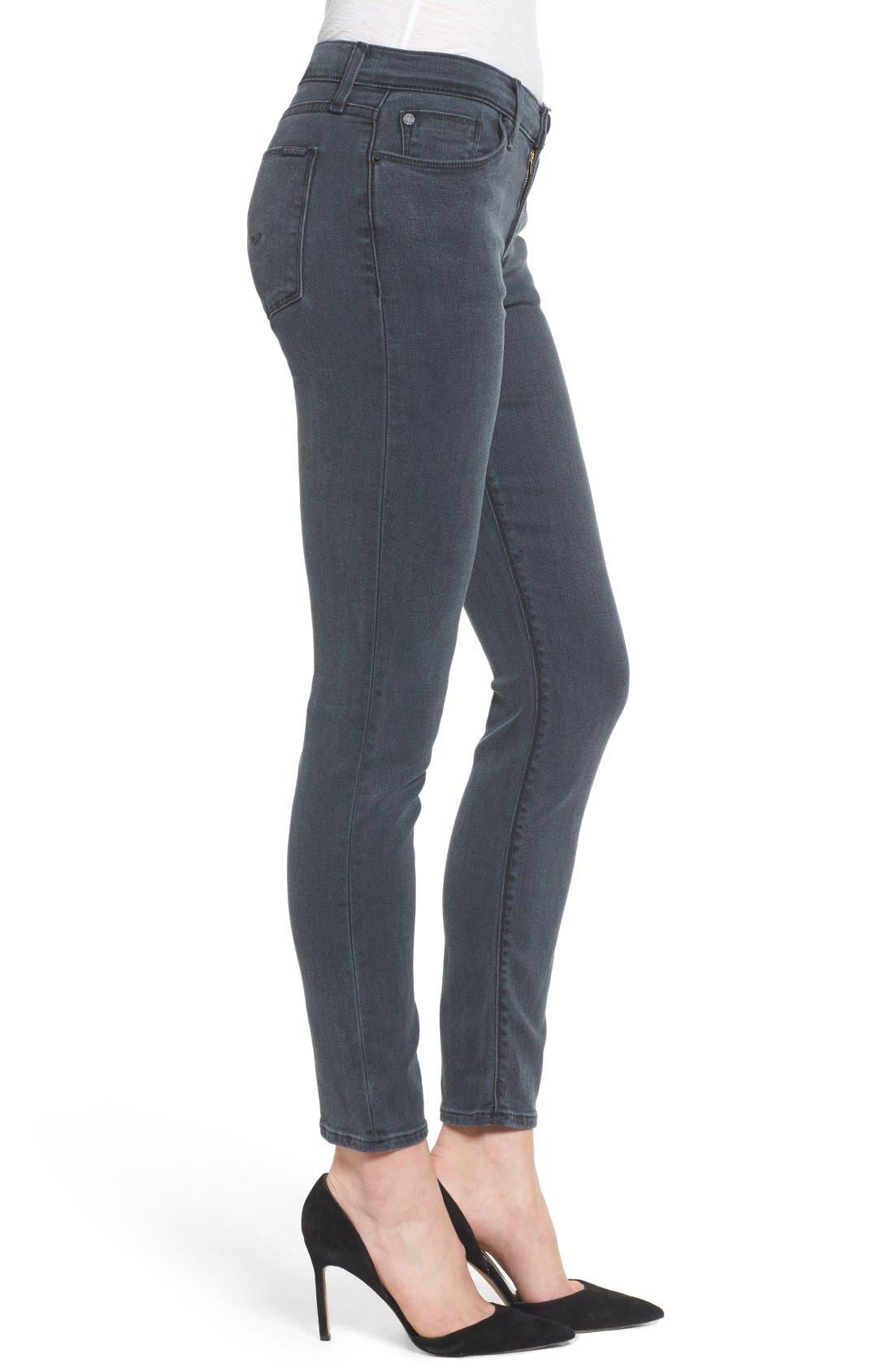 Alternate Image 3  - Hudson Jeans Collette Ankle Skinny Jeans (Penumbra)