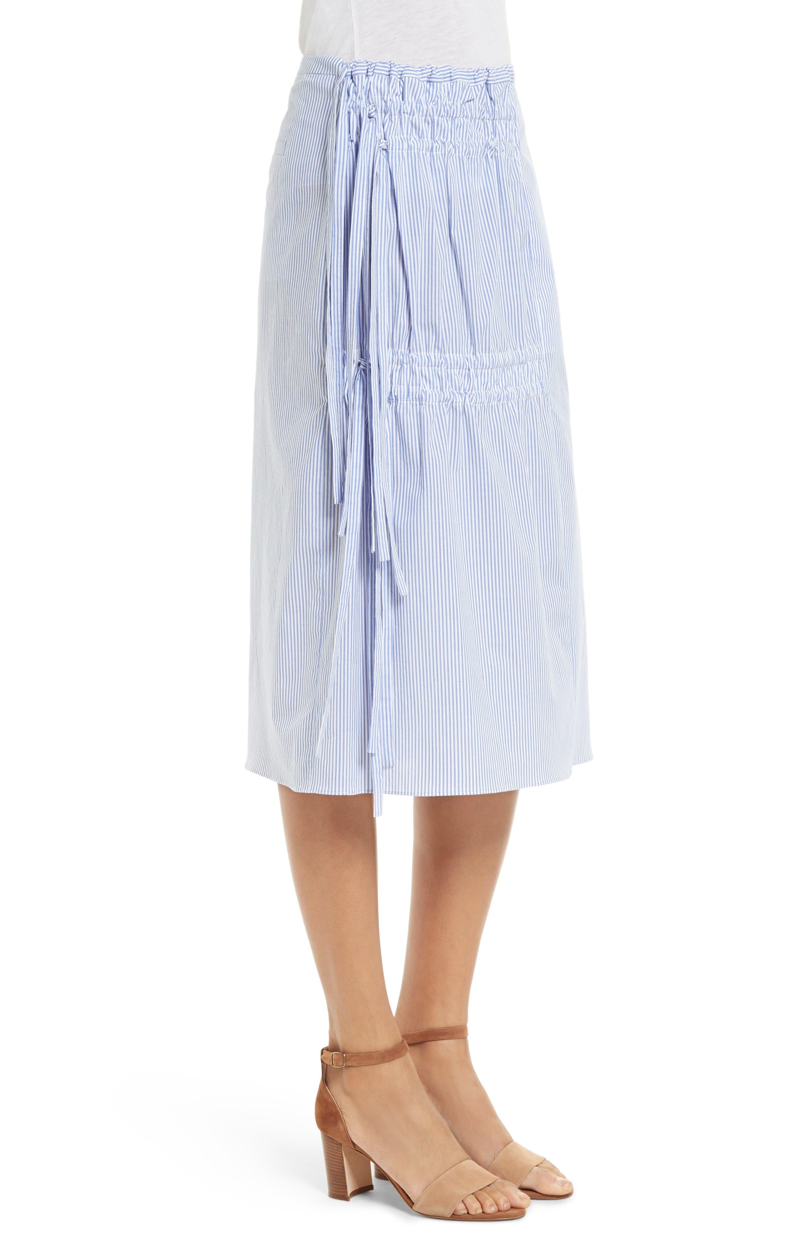 Alternate Image 3  - Tibi Elliot Stripe Side Tie Skirt
