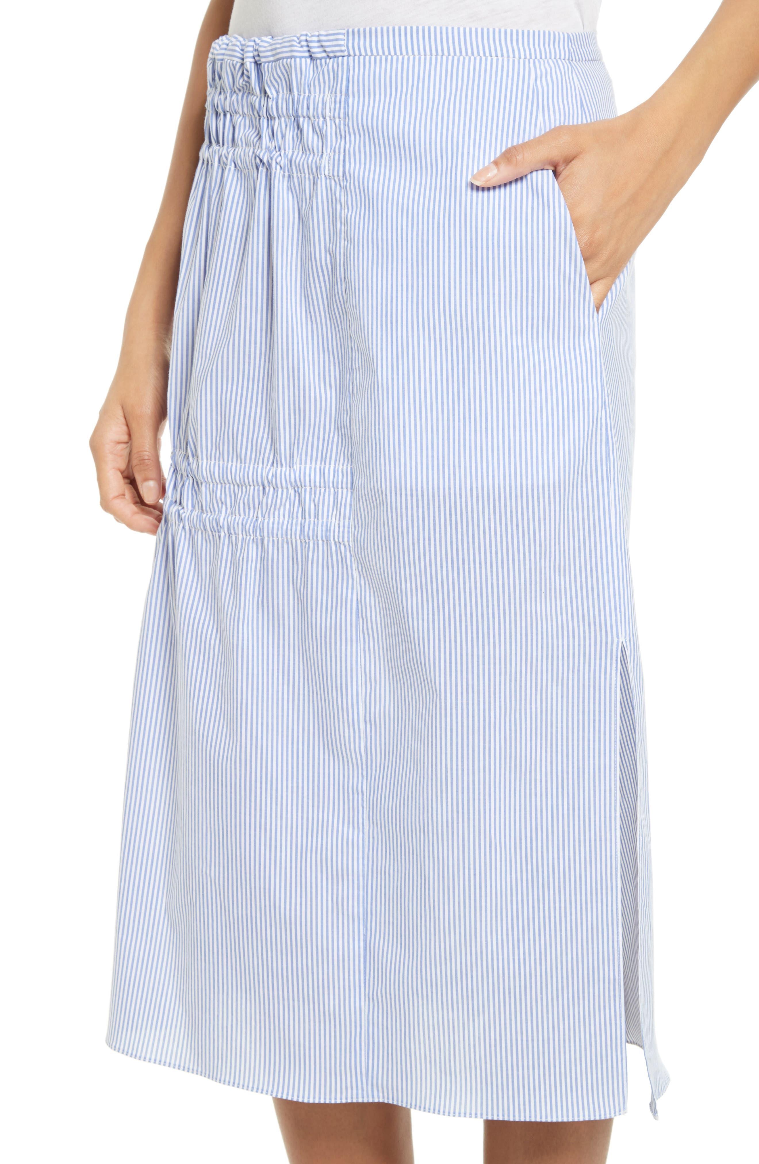 Alternate Image 4  - Tibi Elliot Stripe Side Tie Skirt