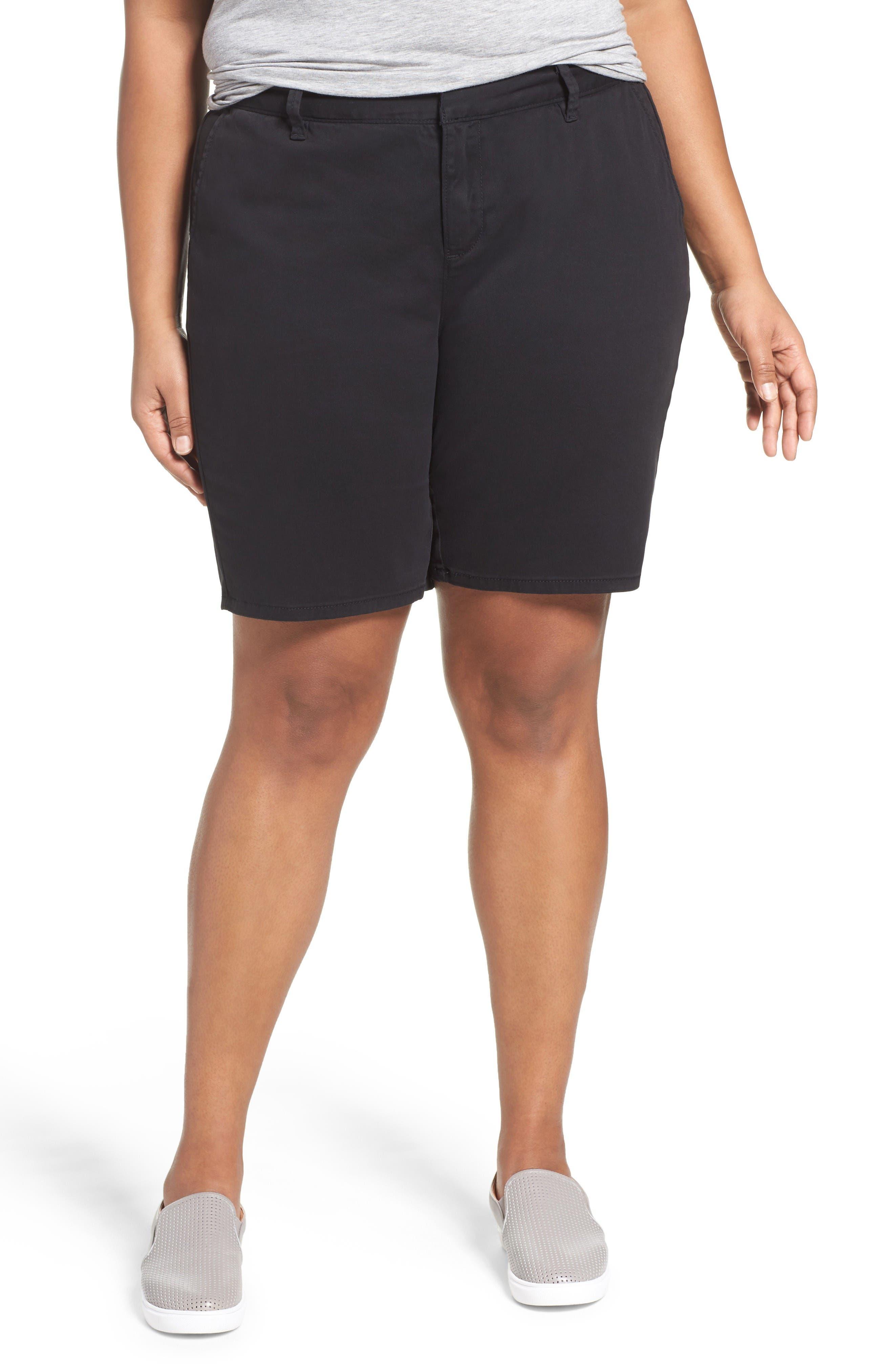 Sejour Bermuda Shorts (Plus Size)