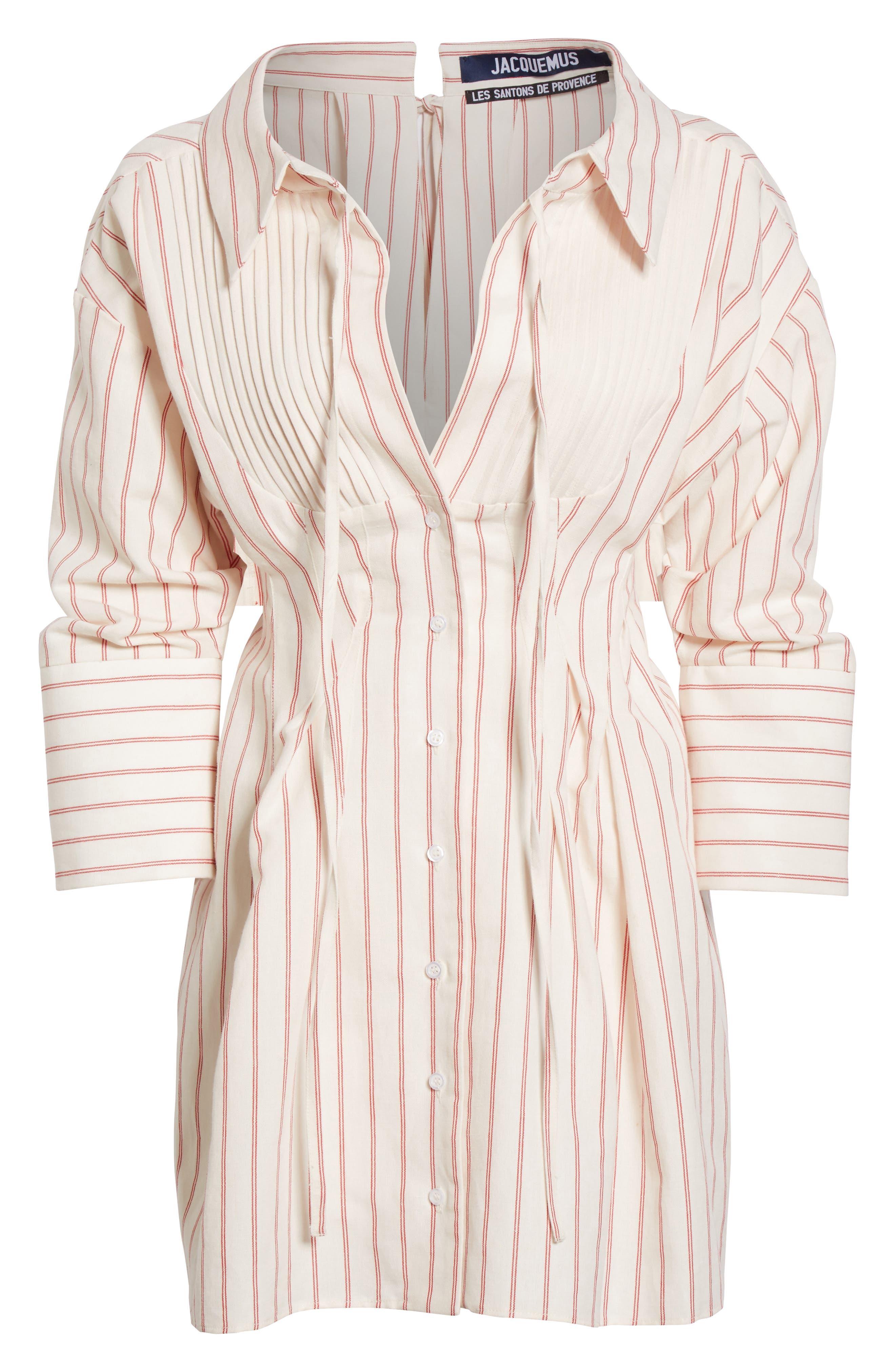 Alternate Image 4  - Jacquemus Arlesienne Shirtdress