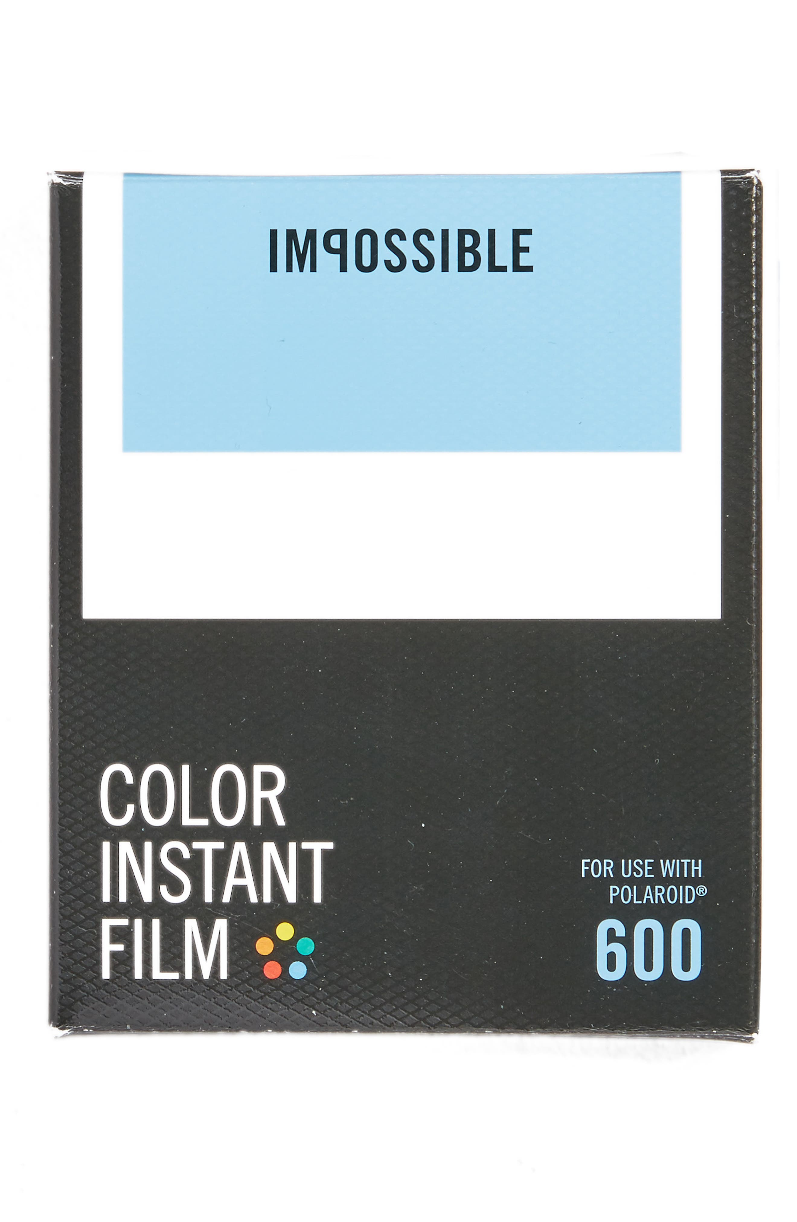 Impossible Project Polaroid 600 Instant Color Film (8 Exposures)