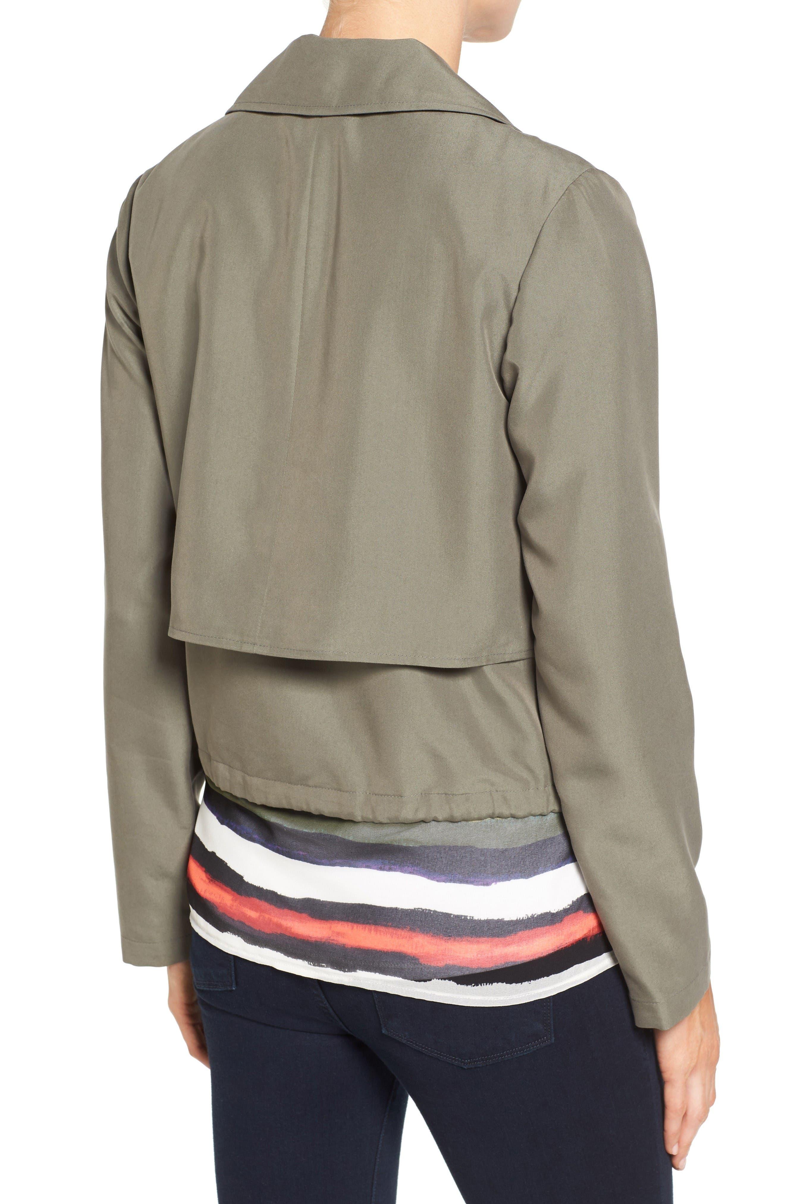 Alternate Image 2  - Halogen® Soft Utility Jacket (Regular & Petite)