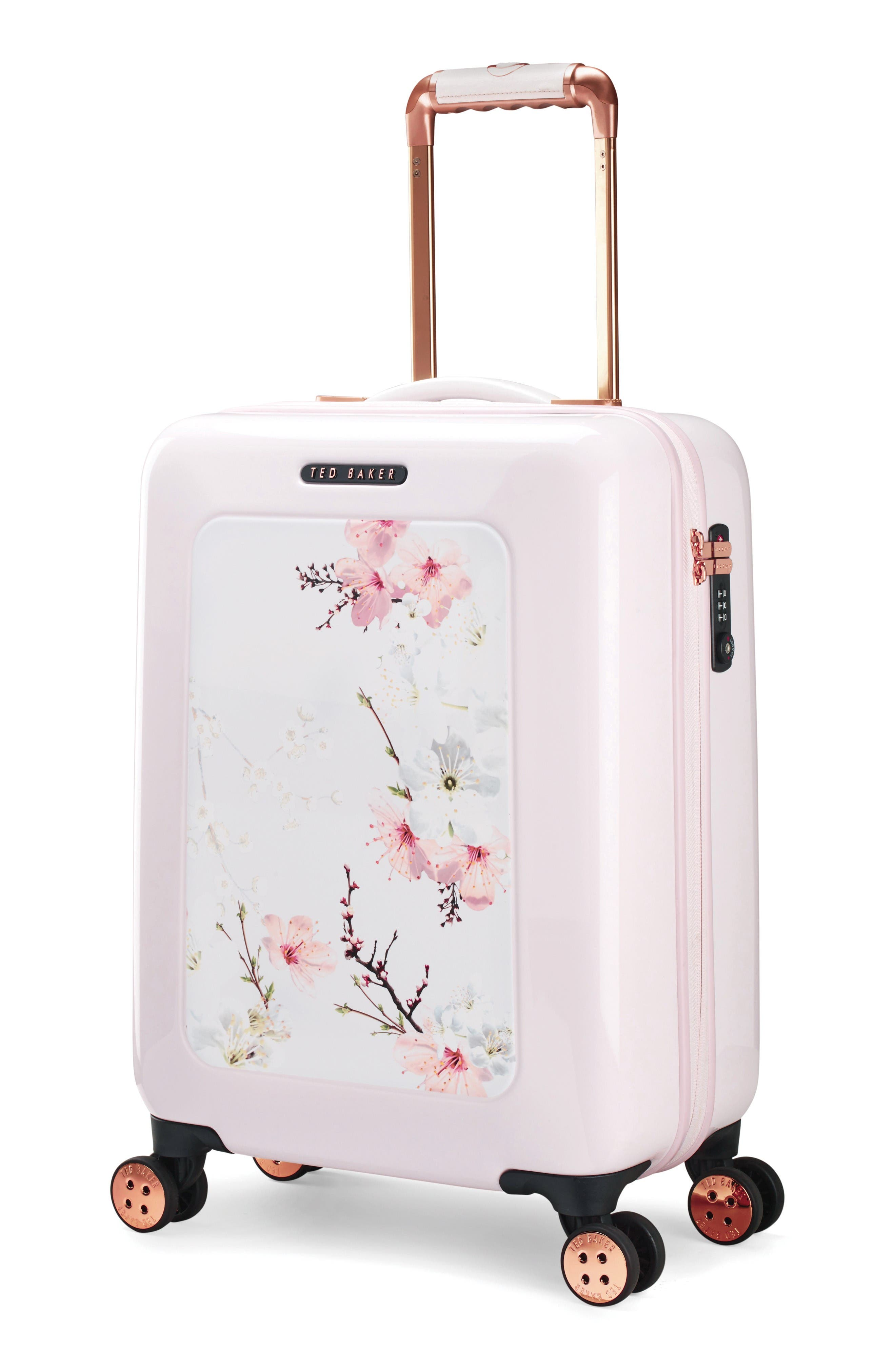 Alternate Image 4  - Ted Baker London Small Four-Wheel Suitcase (21 Inch)