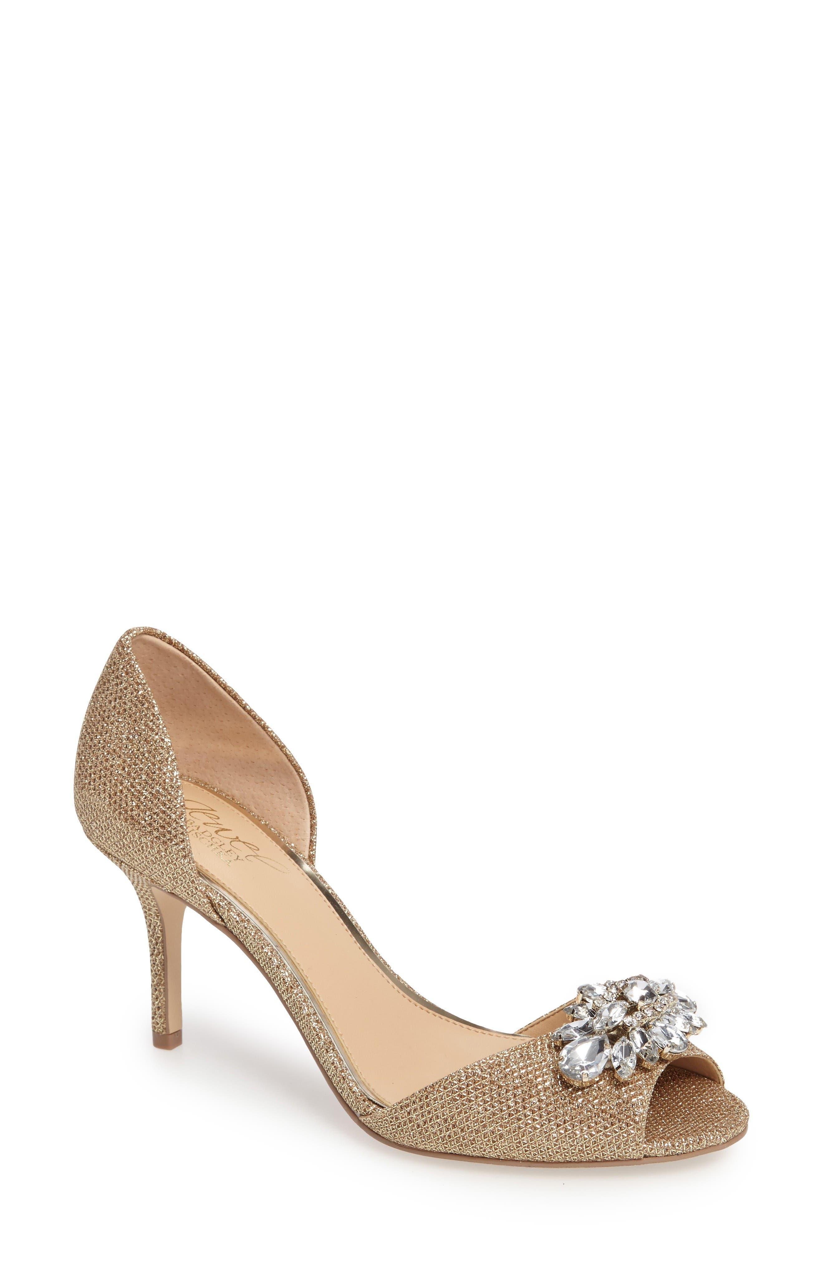 JEWEL BADGLEY MISCHKA Hays Embellished Sparkling Sandal