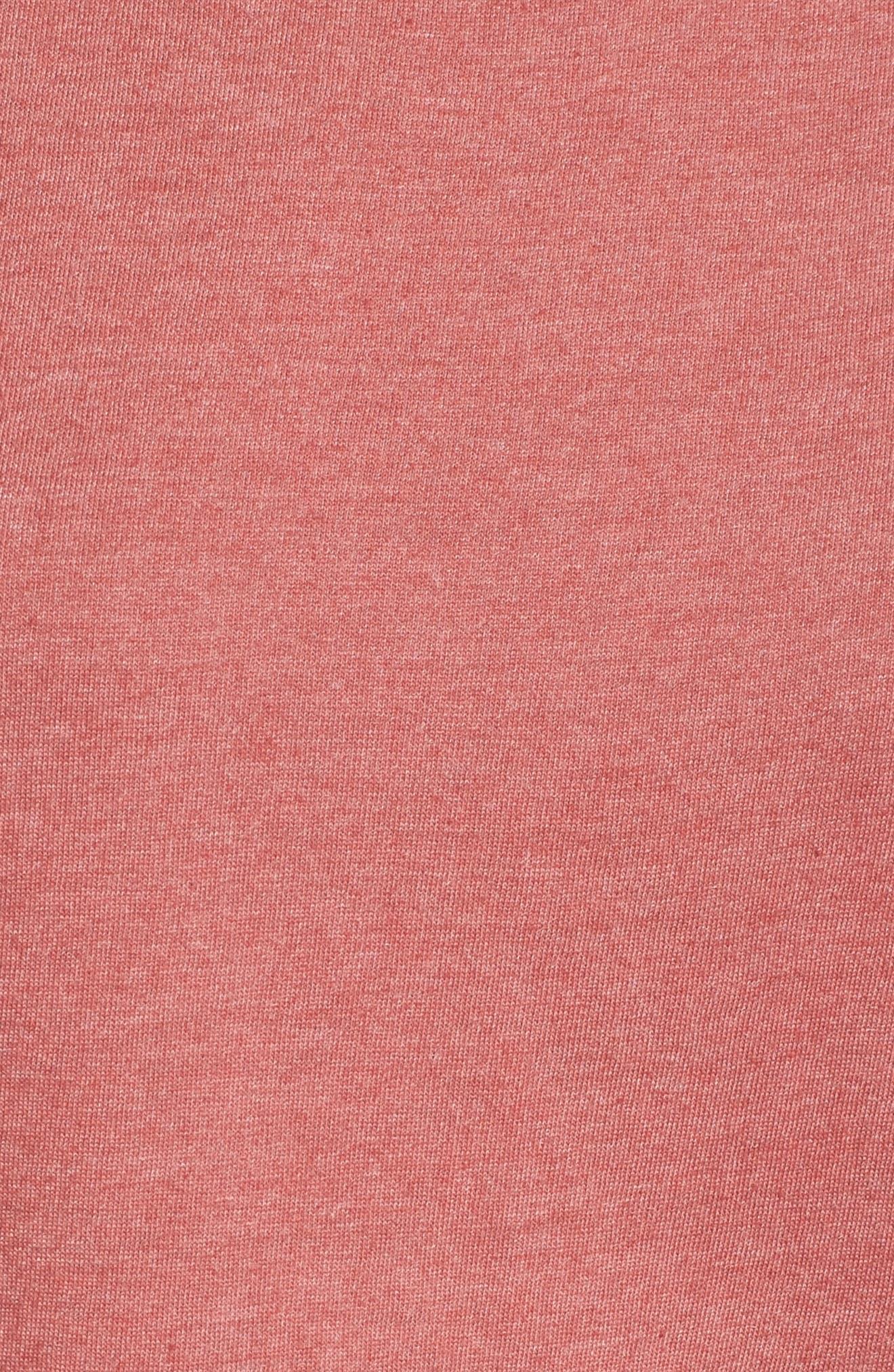 Alternate Image 5  - Caslon® Peplum Tee (Regular & Petite)