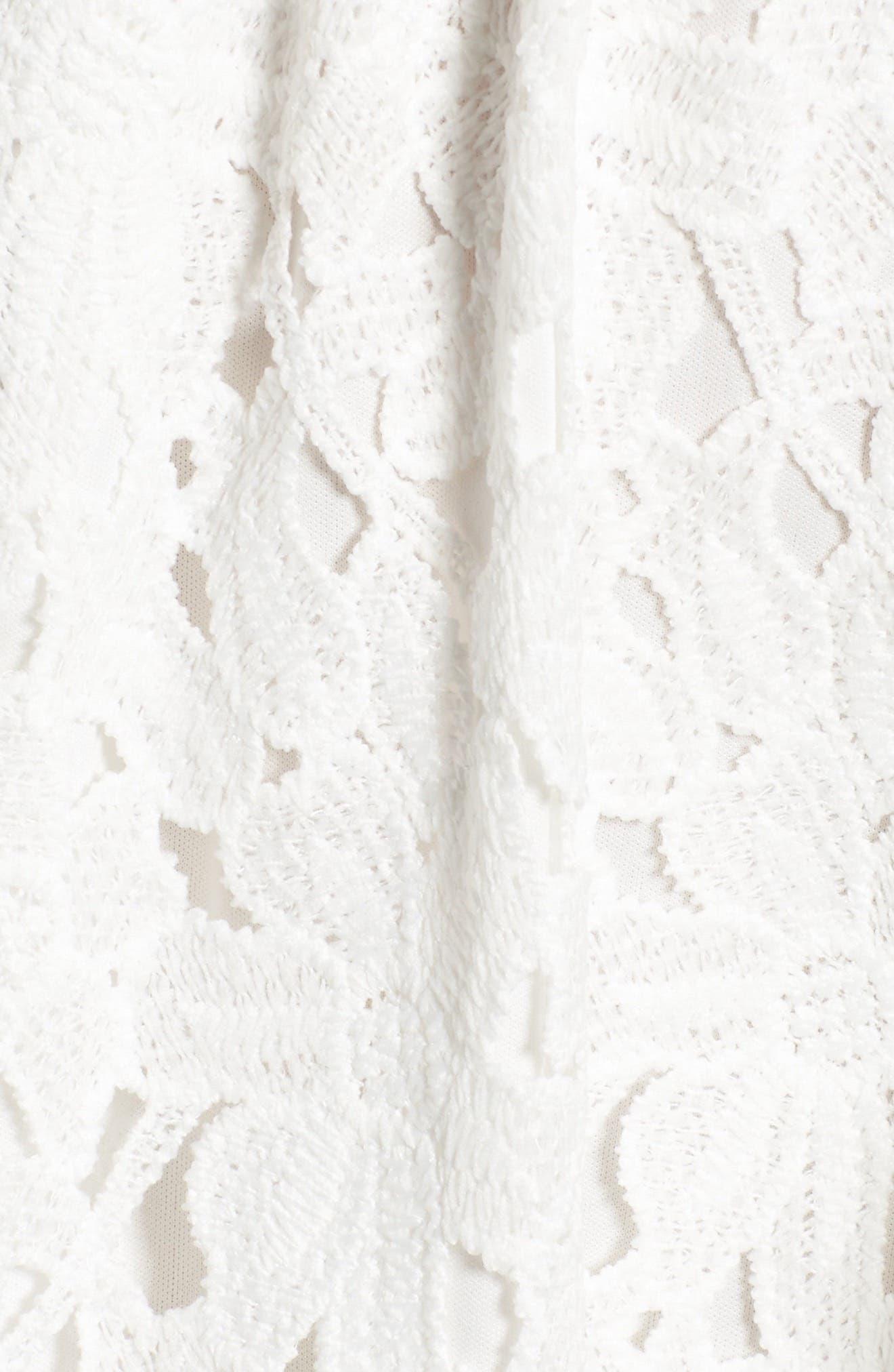 Alternate Image 5  - Dee Elly Lace Skater Dress