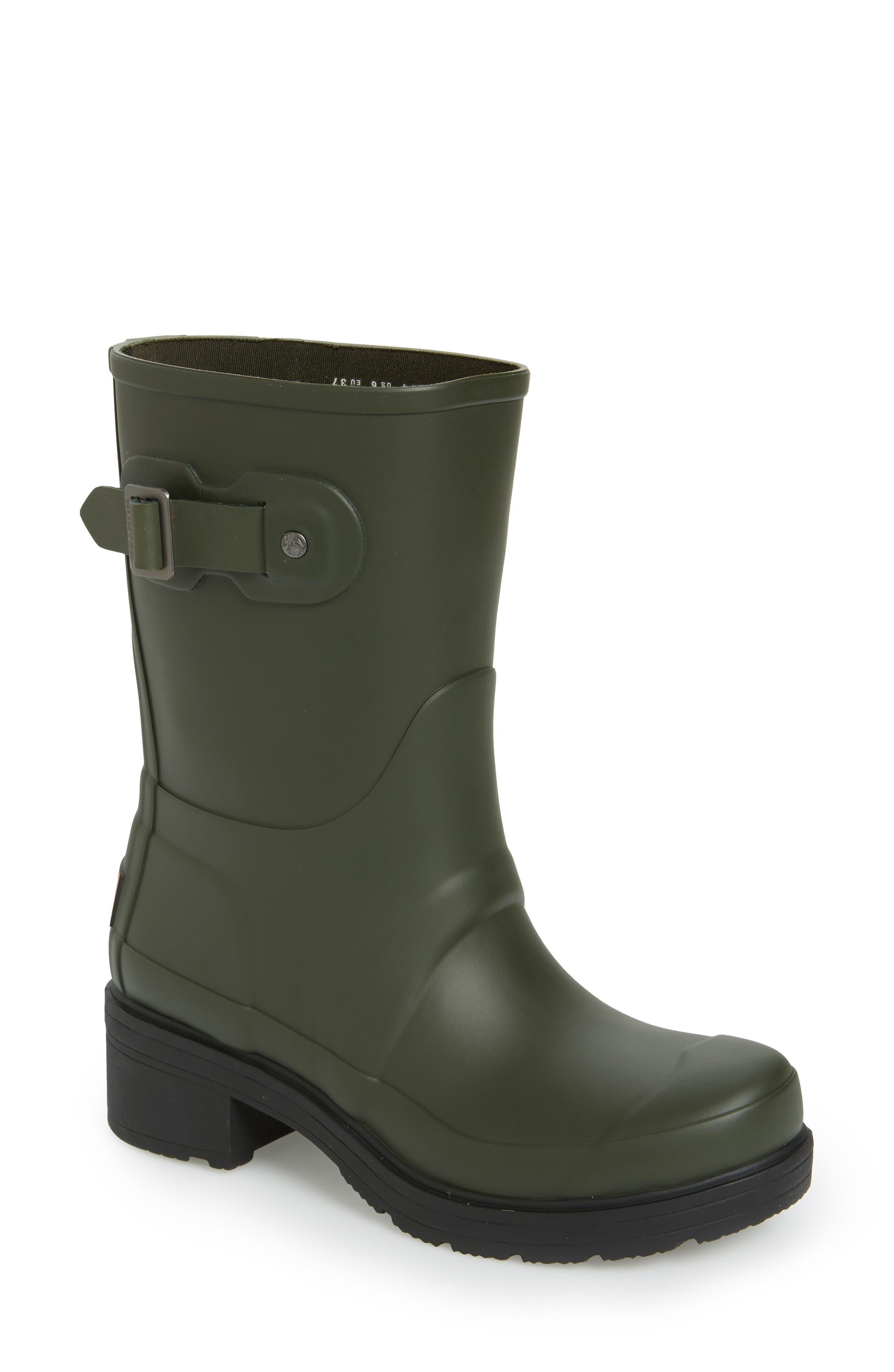 Alternate Image 1 Selected - Hunter 'Original' Waterproof Ankle Rain Boot (Women)
