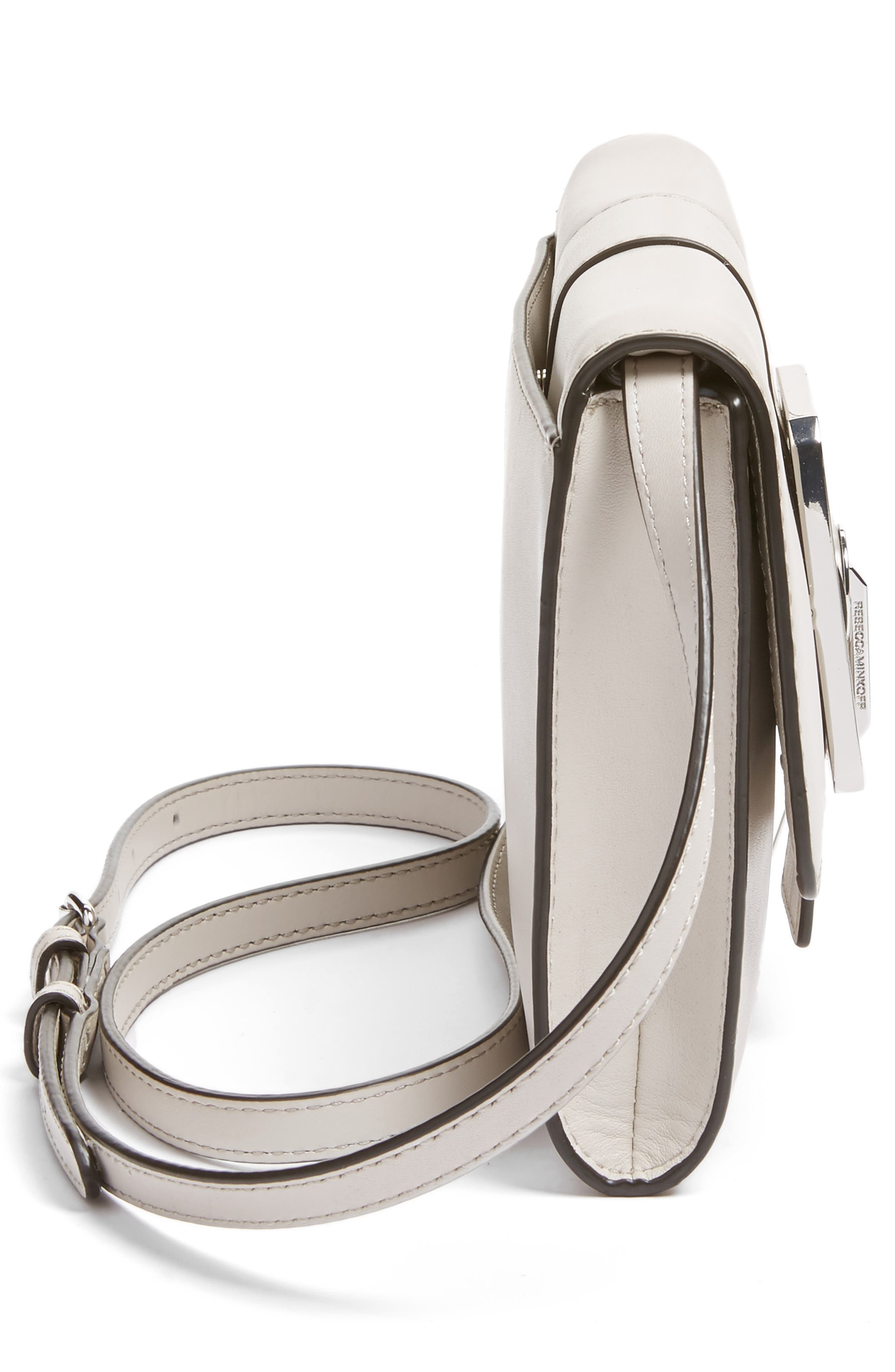 Alternate Image 5  - Rebecca Minkoff Hook Up Convertible Leather Clutch