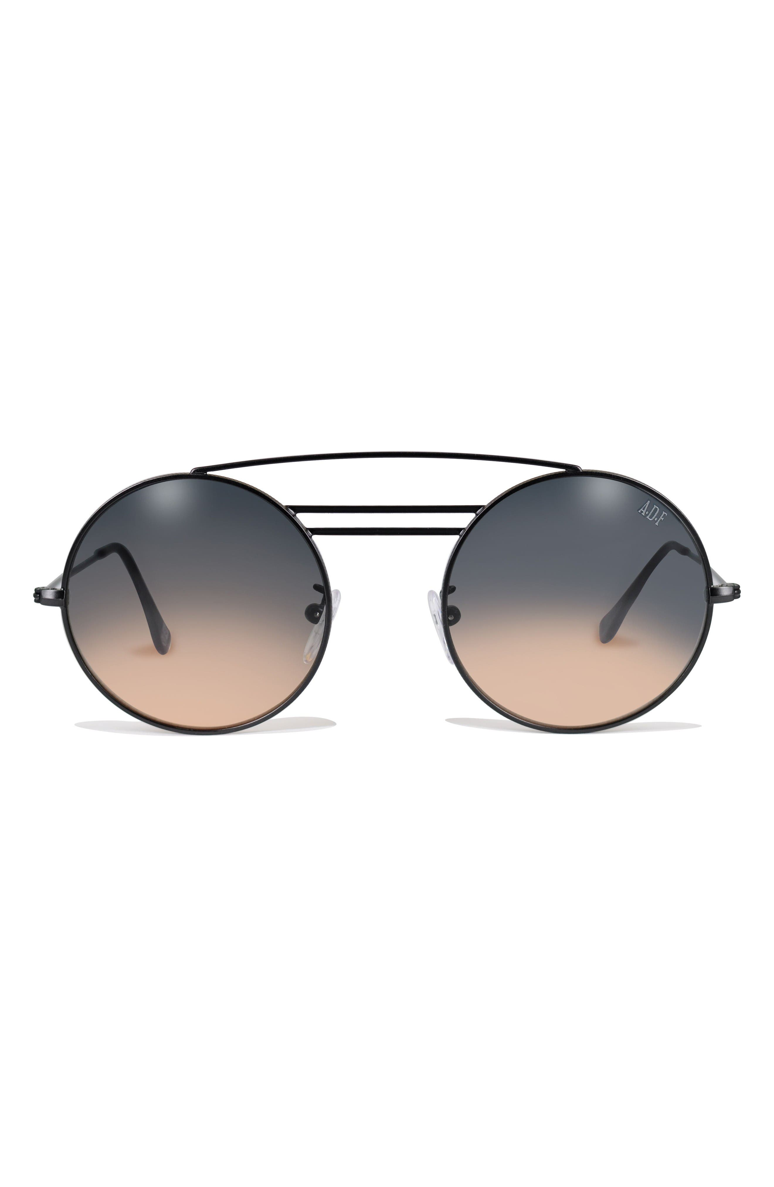 GLASSING Mentalist 48mm Round Sunglasses