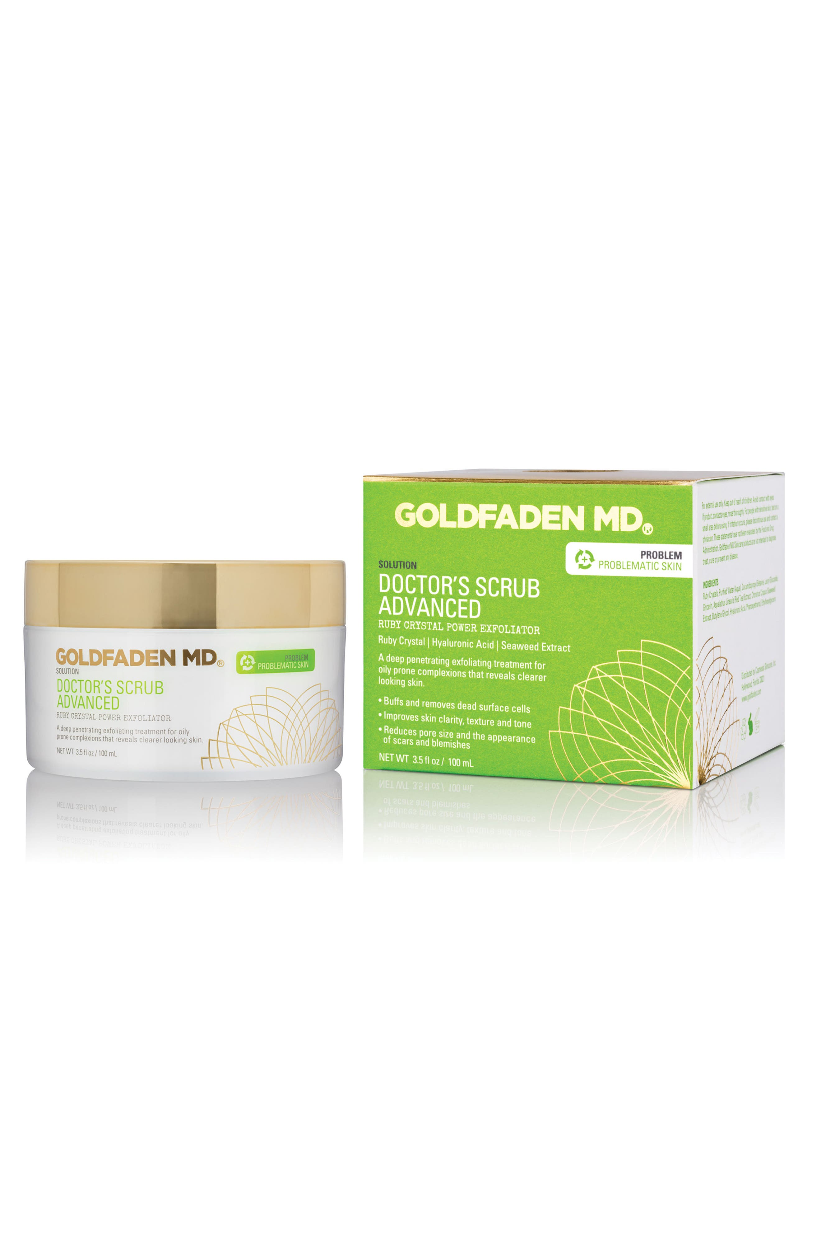 SPACE.NK.apothecary Goldfaden MD Doctor's Scrub Advanced Ruby Crystal Power Exfoliator