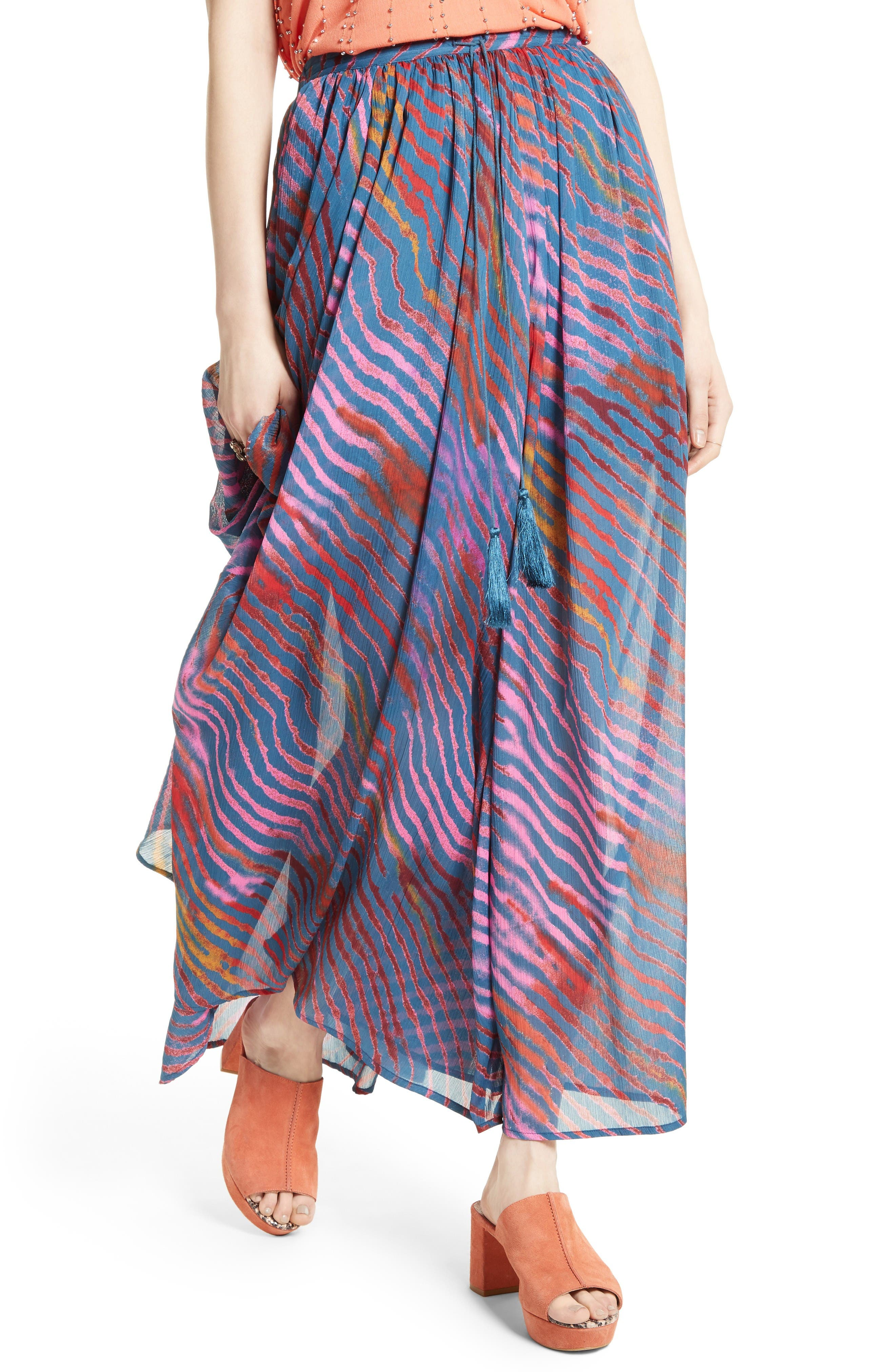 Alternate Image 4  - Free People True To You Maxi Skirt