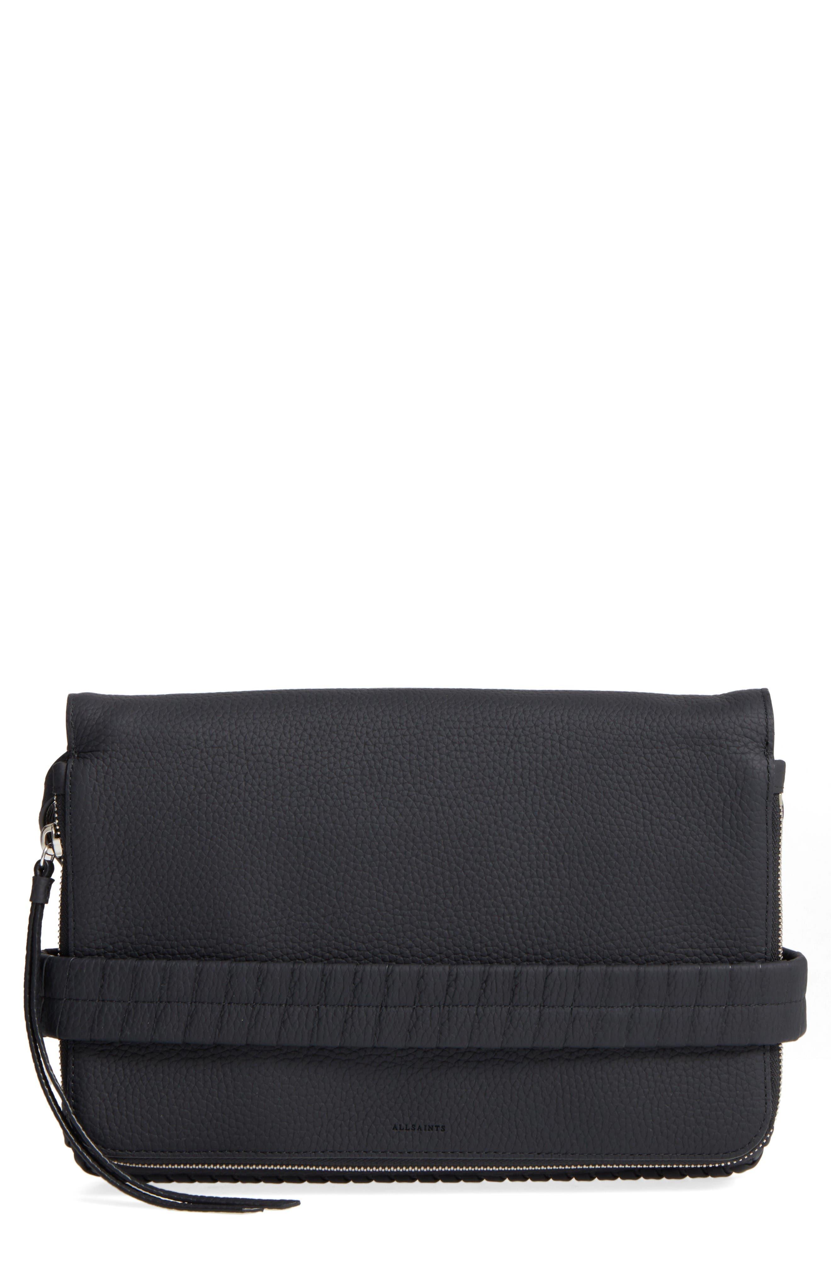Alternate Image 1 Selected - ALLSAINTS Medium Club Convertible Crossbody Bag