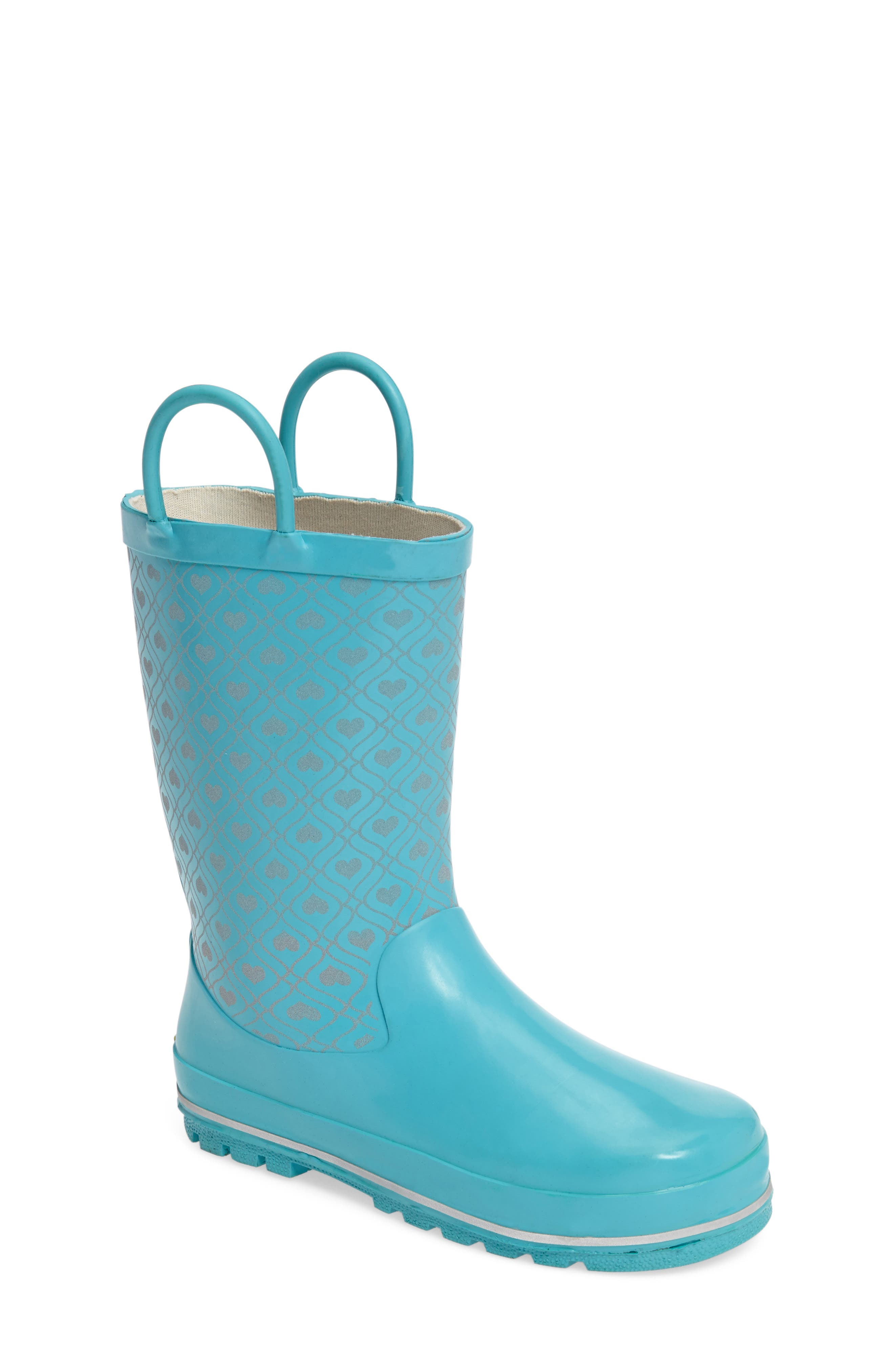 WESTERN CHIEF Reflective Hearts Rain Boot