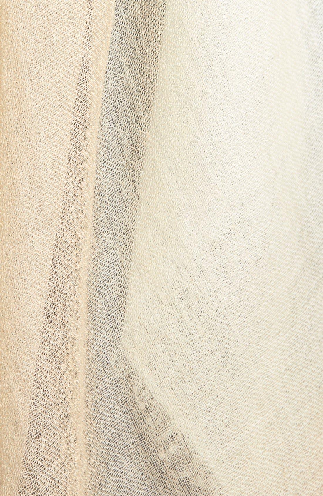 Alternate Image 3  - Halogen® Ombré Cashmere Twill Wrap
