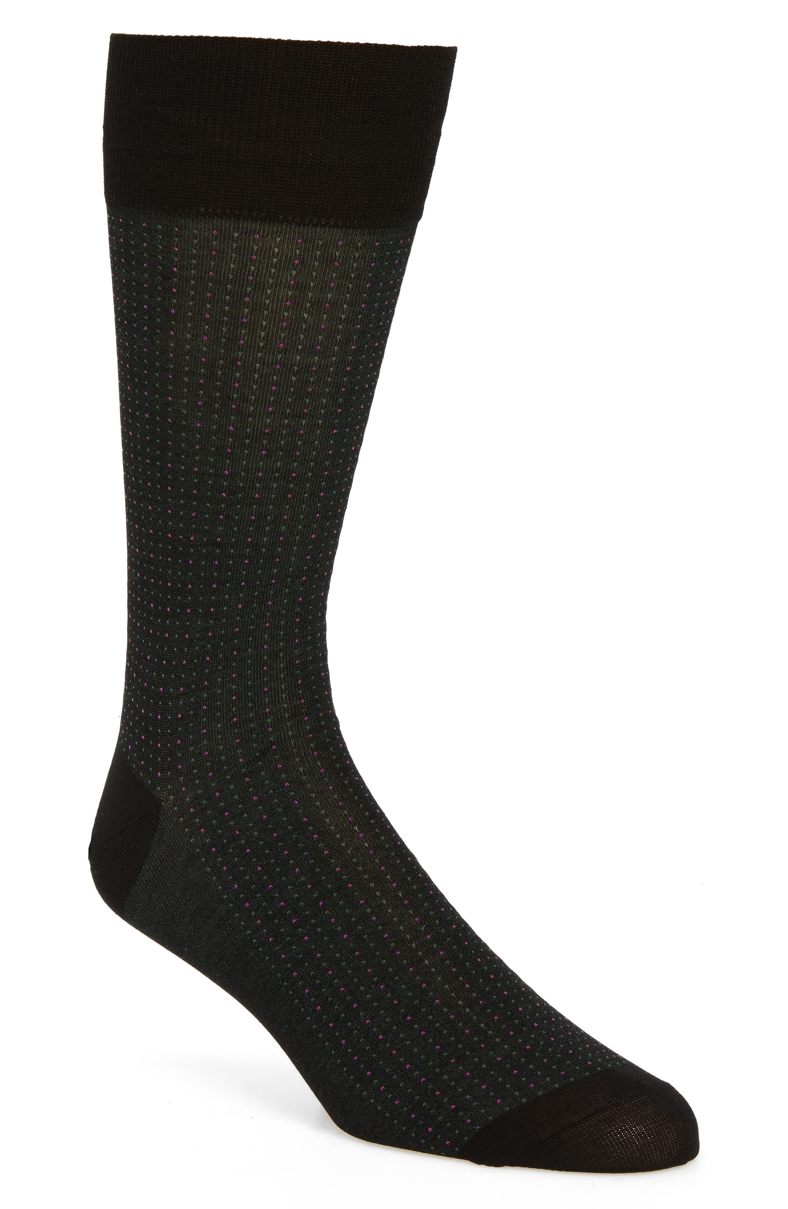 JOHN W. NORDSTROM® Pin Dot Socks