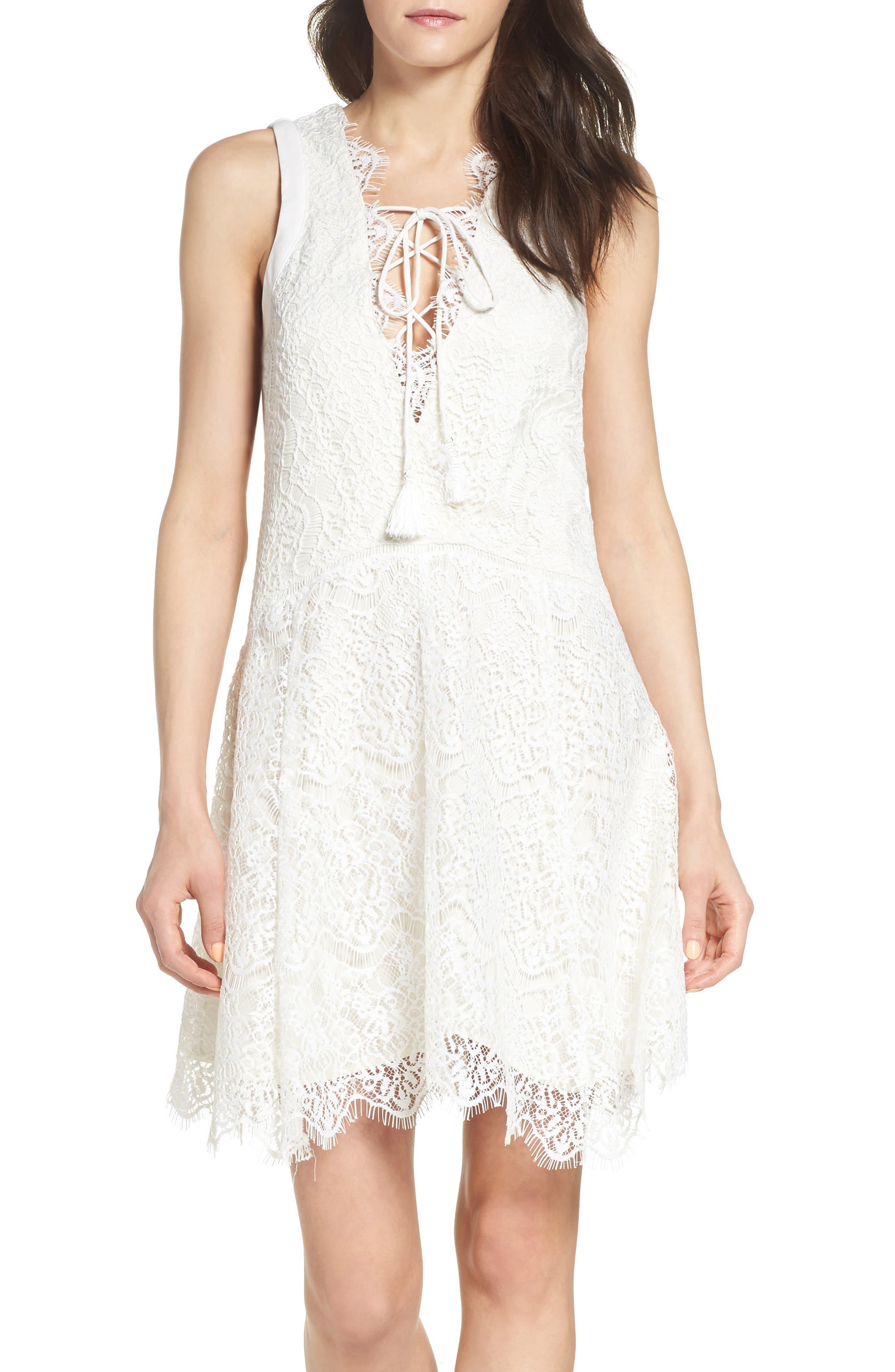Alternate Image 1 Selected - Adelyn Rae Lace Shift Dress