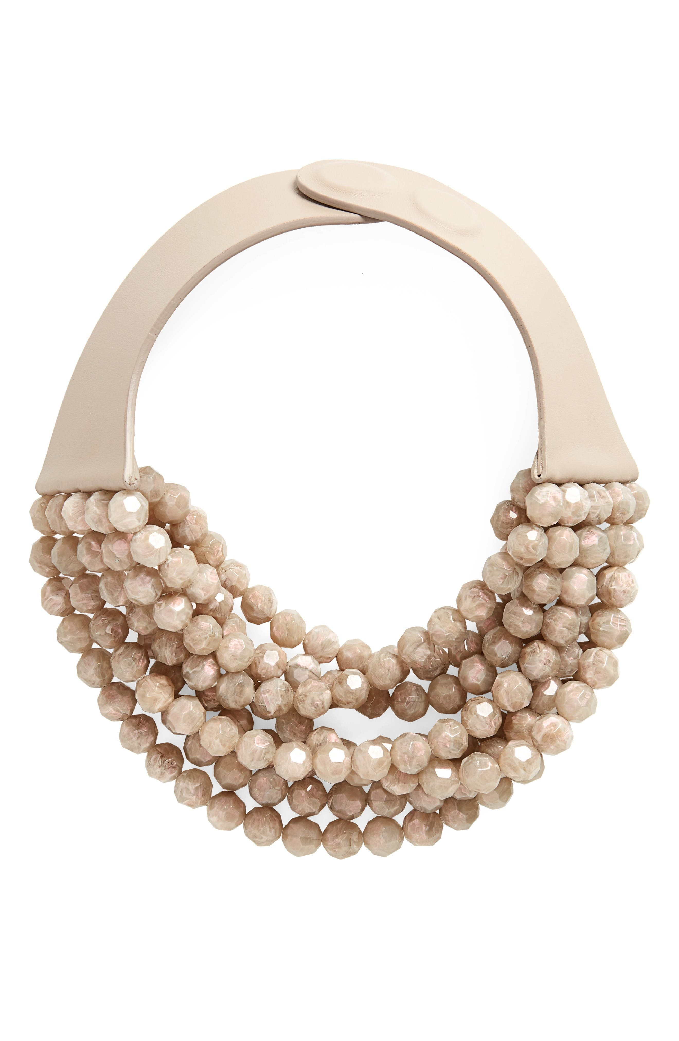 Main Image - Fairchild Baldwin Bella Beaded Collar Necklace