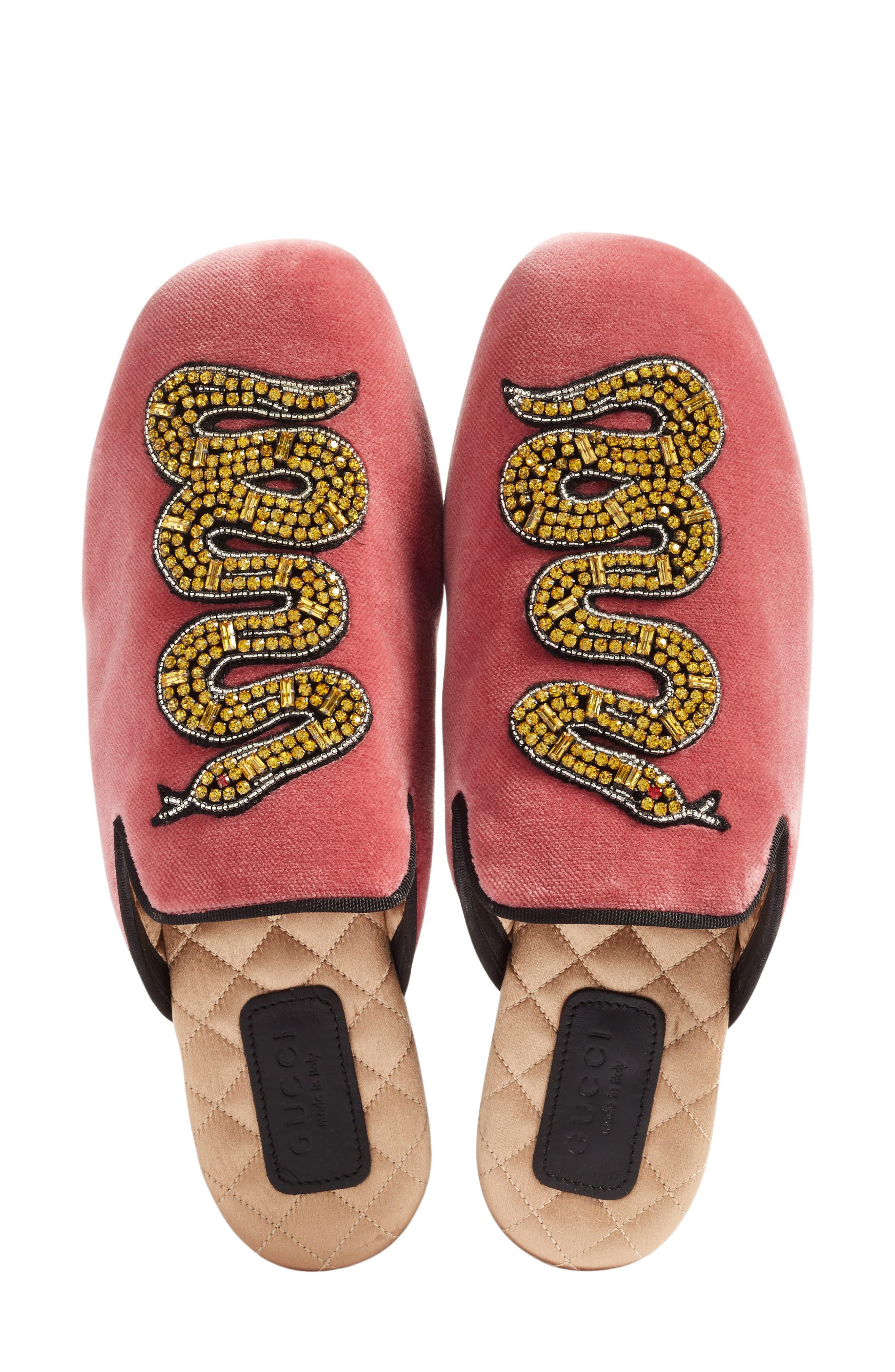 Alternate Image 3  - Gucci Lawrence Snake Mule (Women)