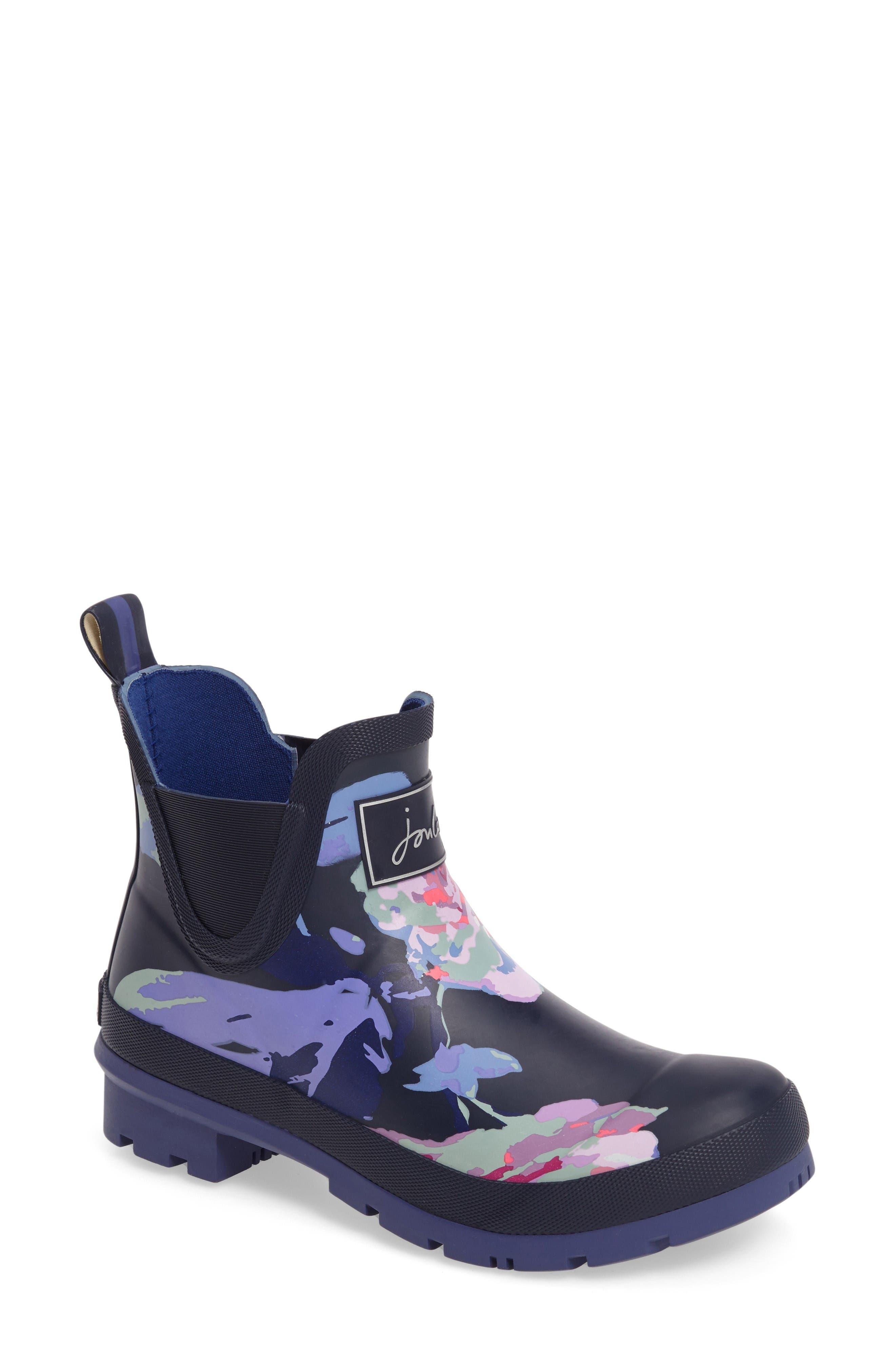Joules 'Wellibob' Short Rain Boot (Women)