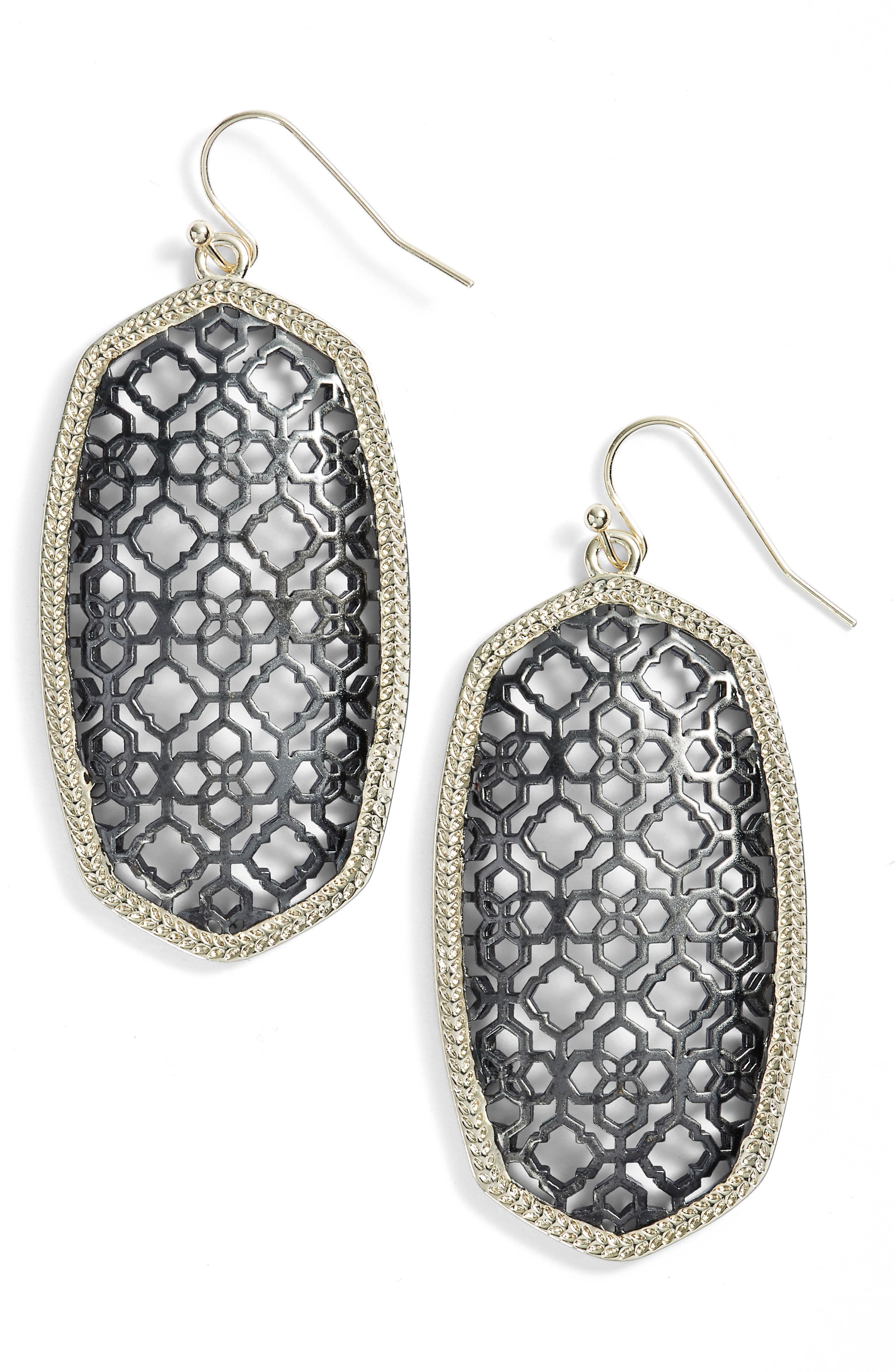Kendra Scott Danielle Large Openwork Statement Earrings