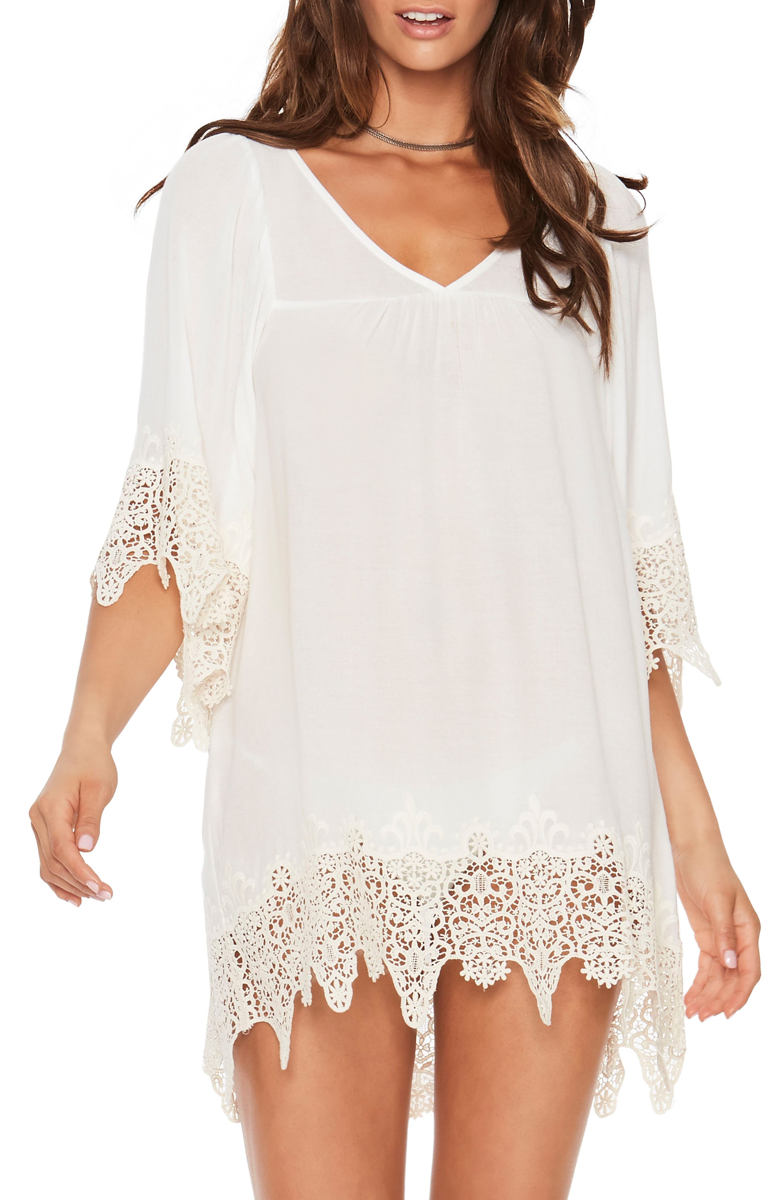 Alternate Image 1 Selected - L Space Lace Cover-Up Tunic