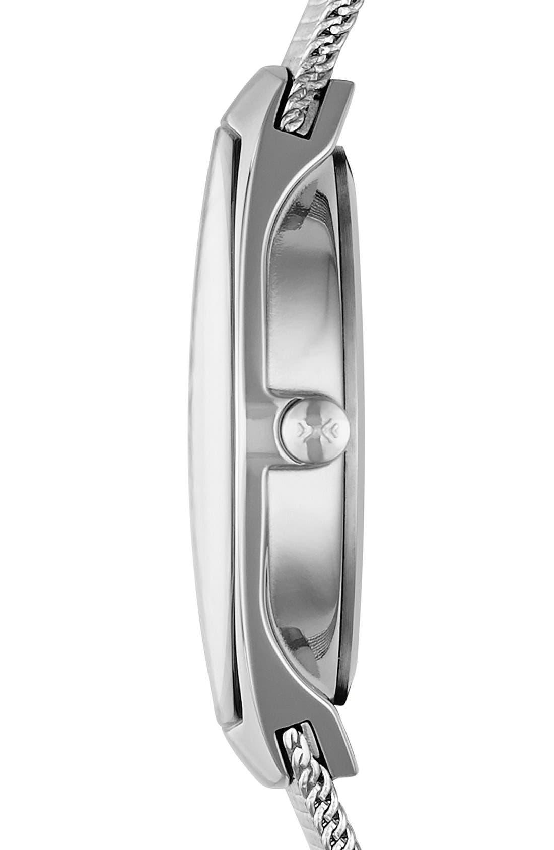Alternate Image 3  - Skagen 'Asta' Slim Barrel Mesh Strap Watch, 28mm