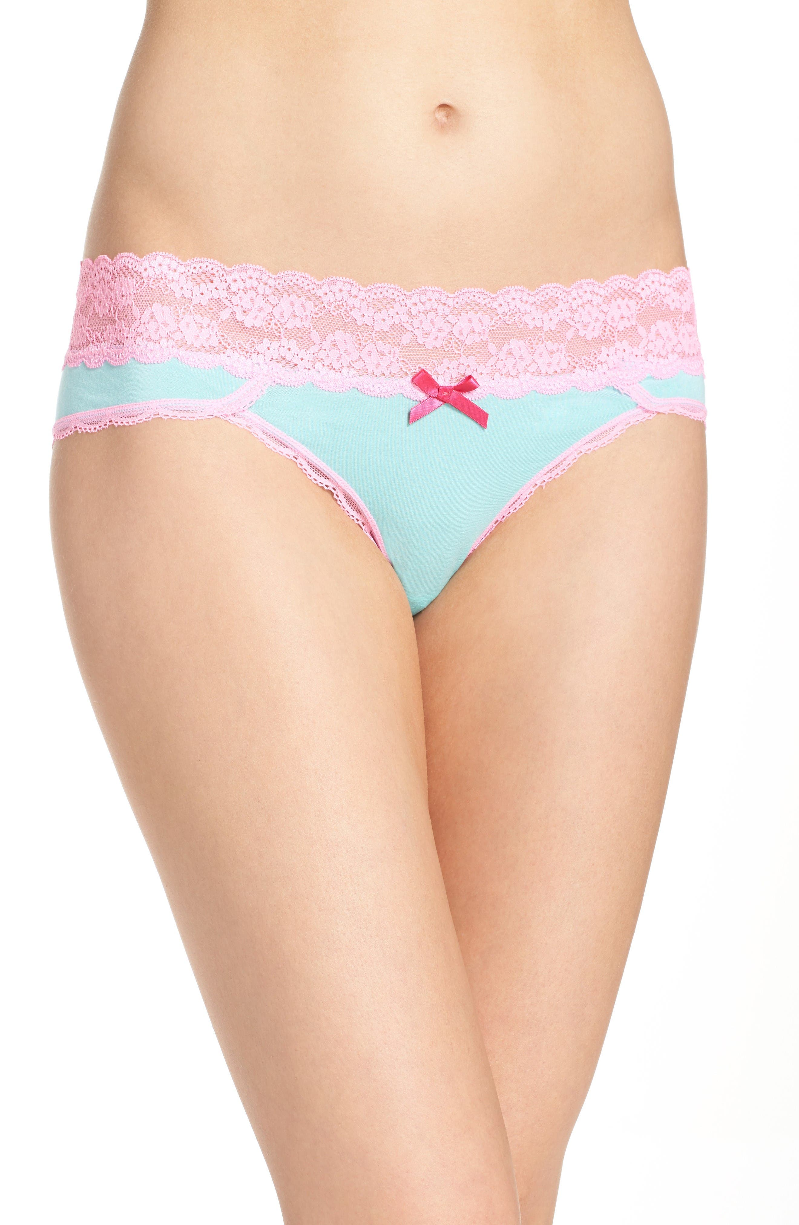 Honeydew Intimates Lace Waistband Hipster Panties