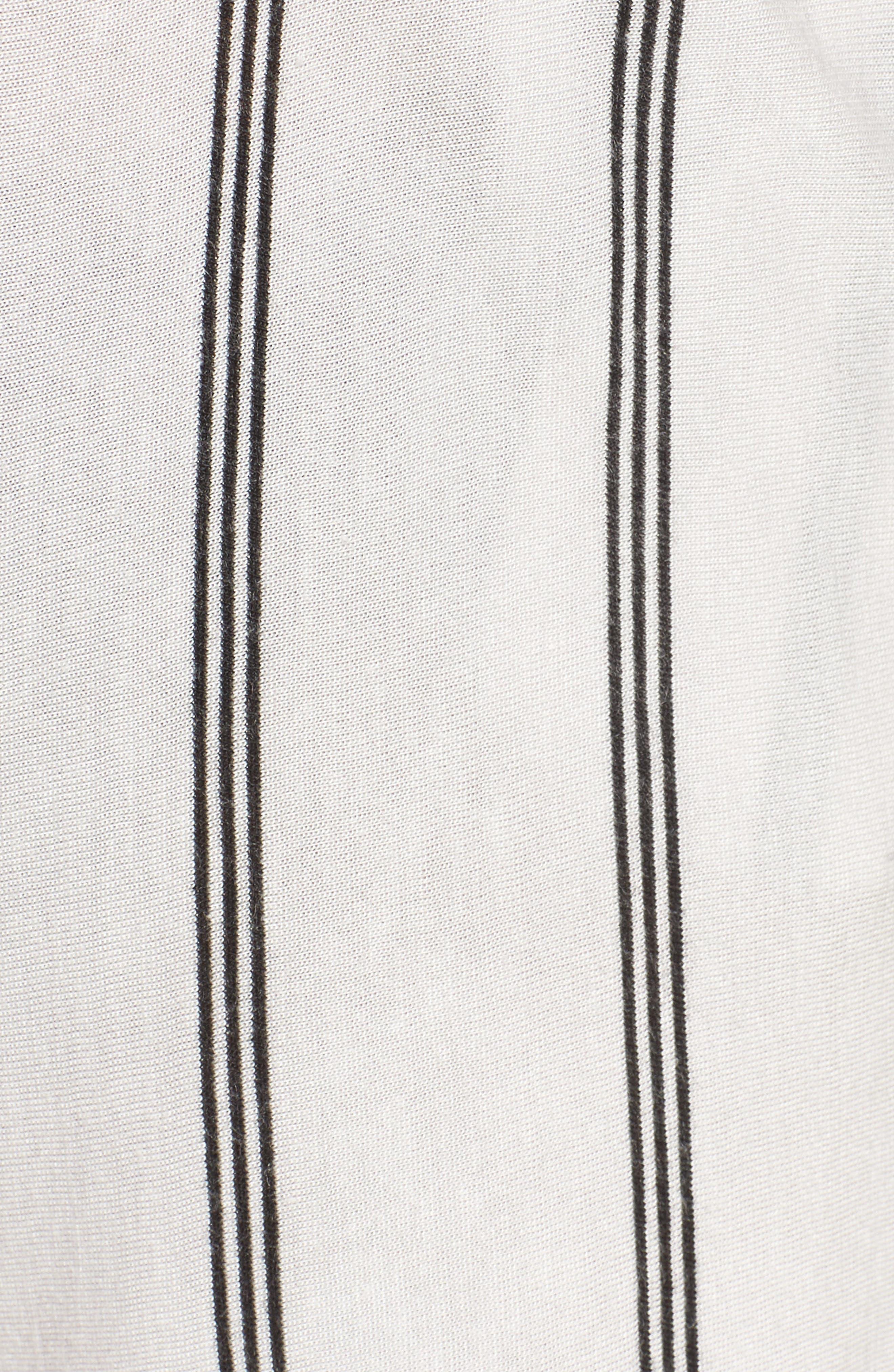 Alternate Image 5  - Michelle by Comune Reklaw Stripe Shorts