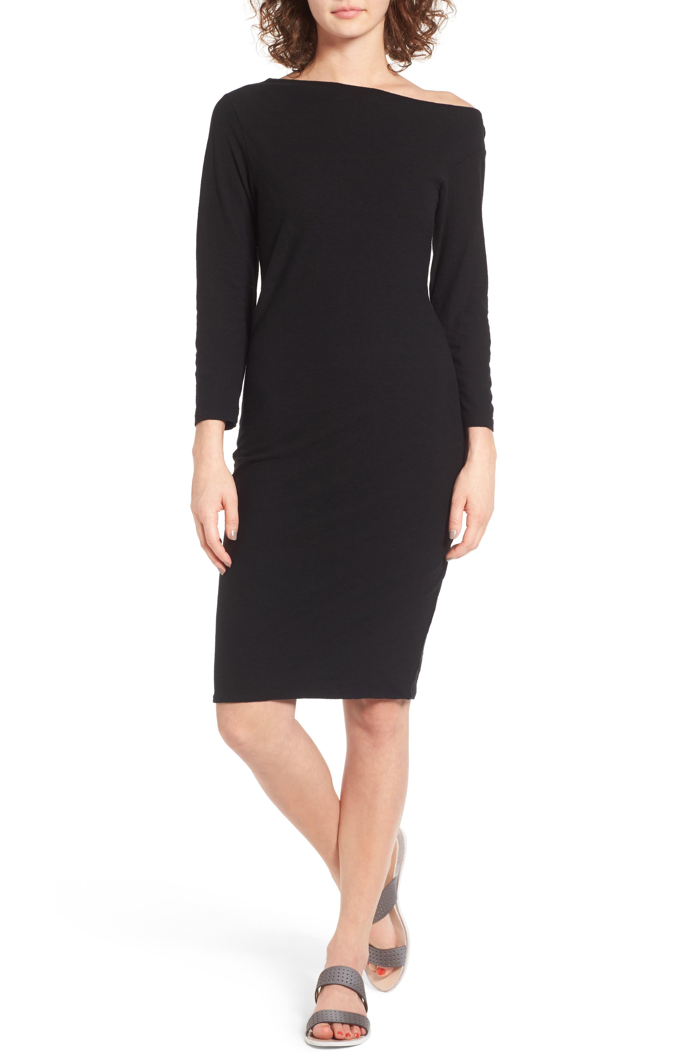 Alternate Image 1 Selected - James Perse Off the Shoulder Dress