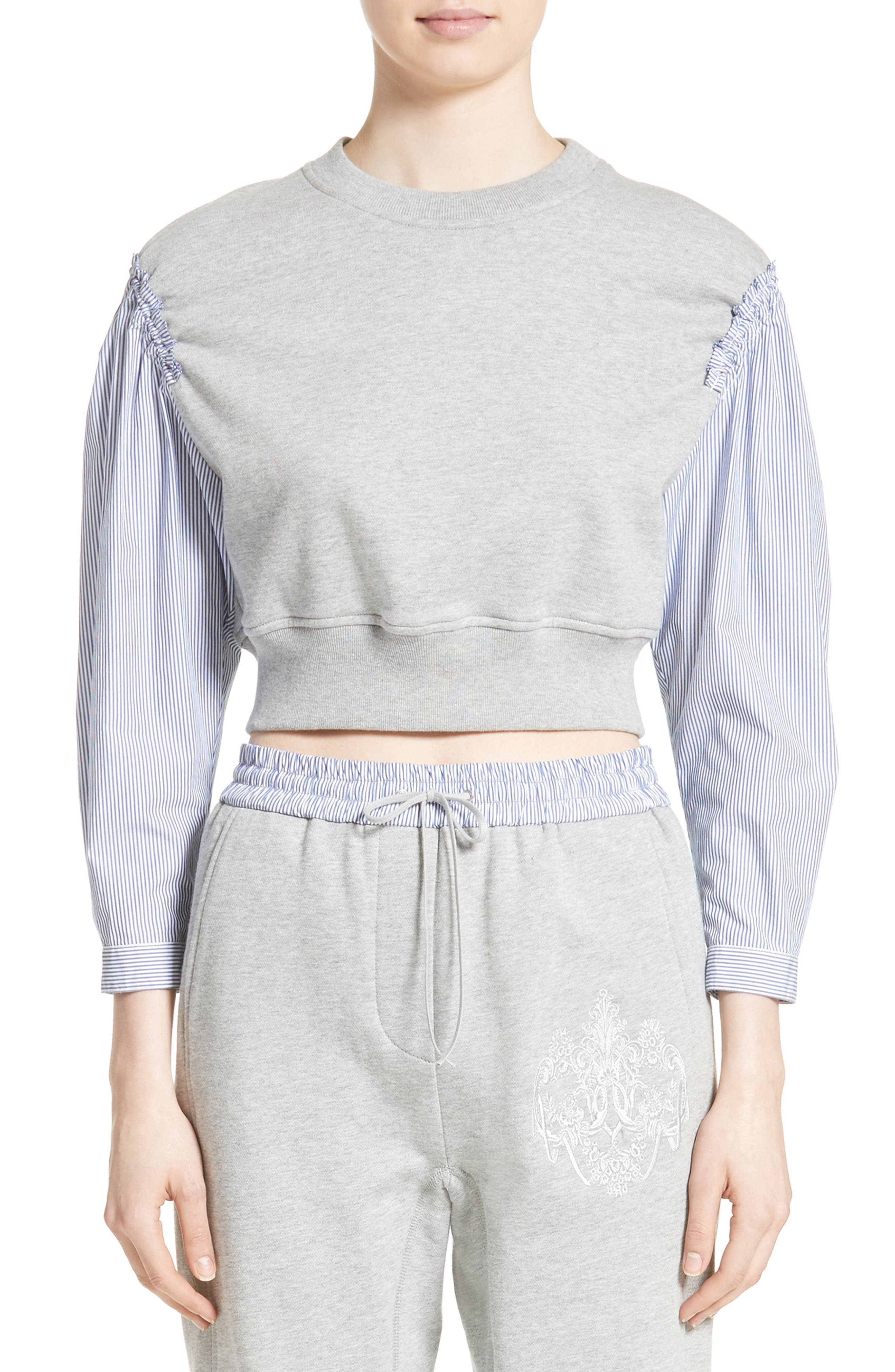3.1 PHILLIP LIM French Terry Combo Top