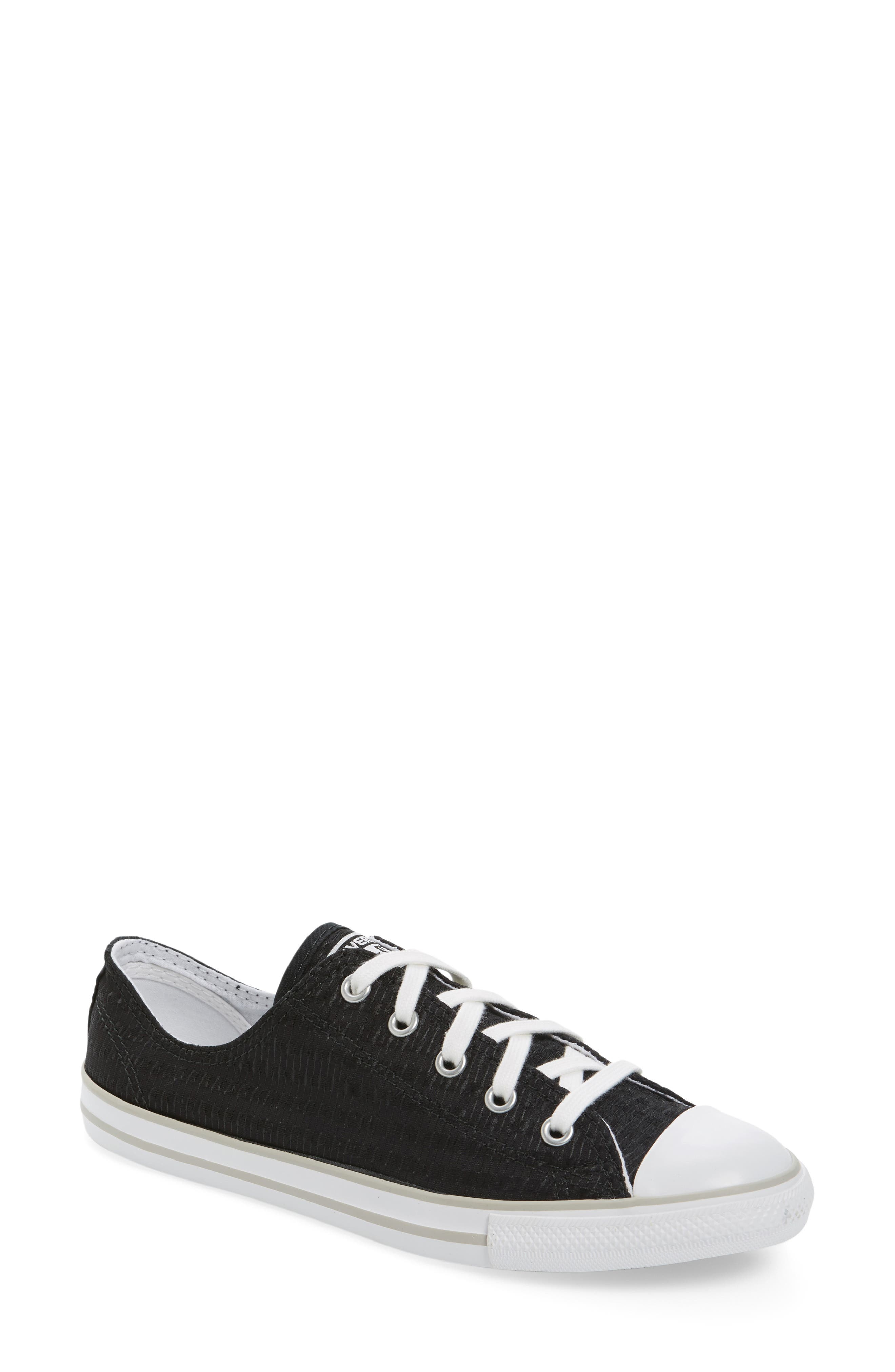 Alternate Image 1 Selected - Chuck Taylor® All Star® Dainty Low Top Sneaker (Women)
